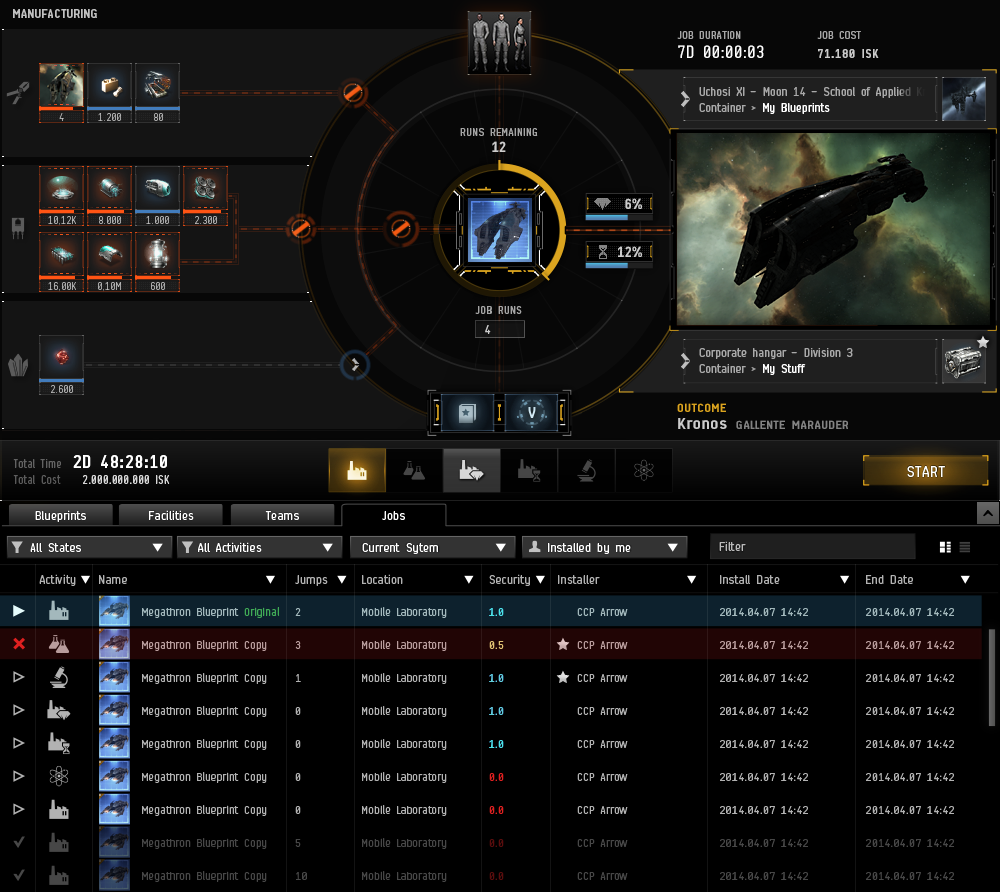 The new UI makes everything available to an industrialist in one graphical view.