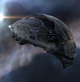The incredible Prorator blockade runner - one of my all-time favorite ships in EVE Online.