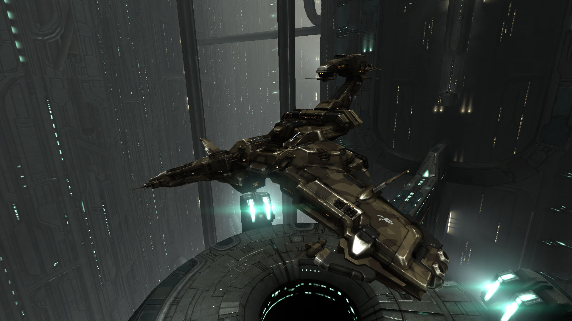 The beautiful and impressive Gurista Rattlesnake battleship