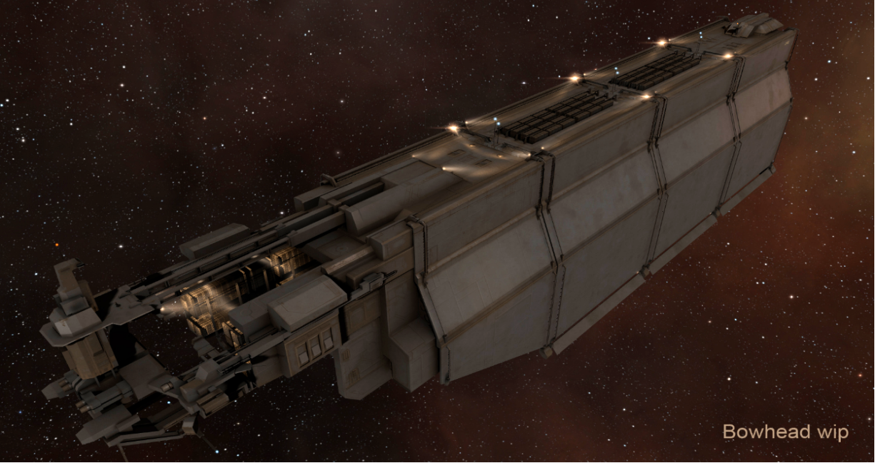 The ORE Bowhead will be a boon to Incursion runners who need to shuttle blinged-out battleships between systems - and also to gankers looking for rich targets.
