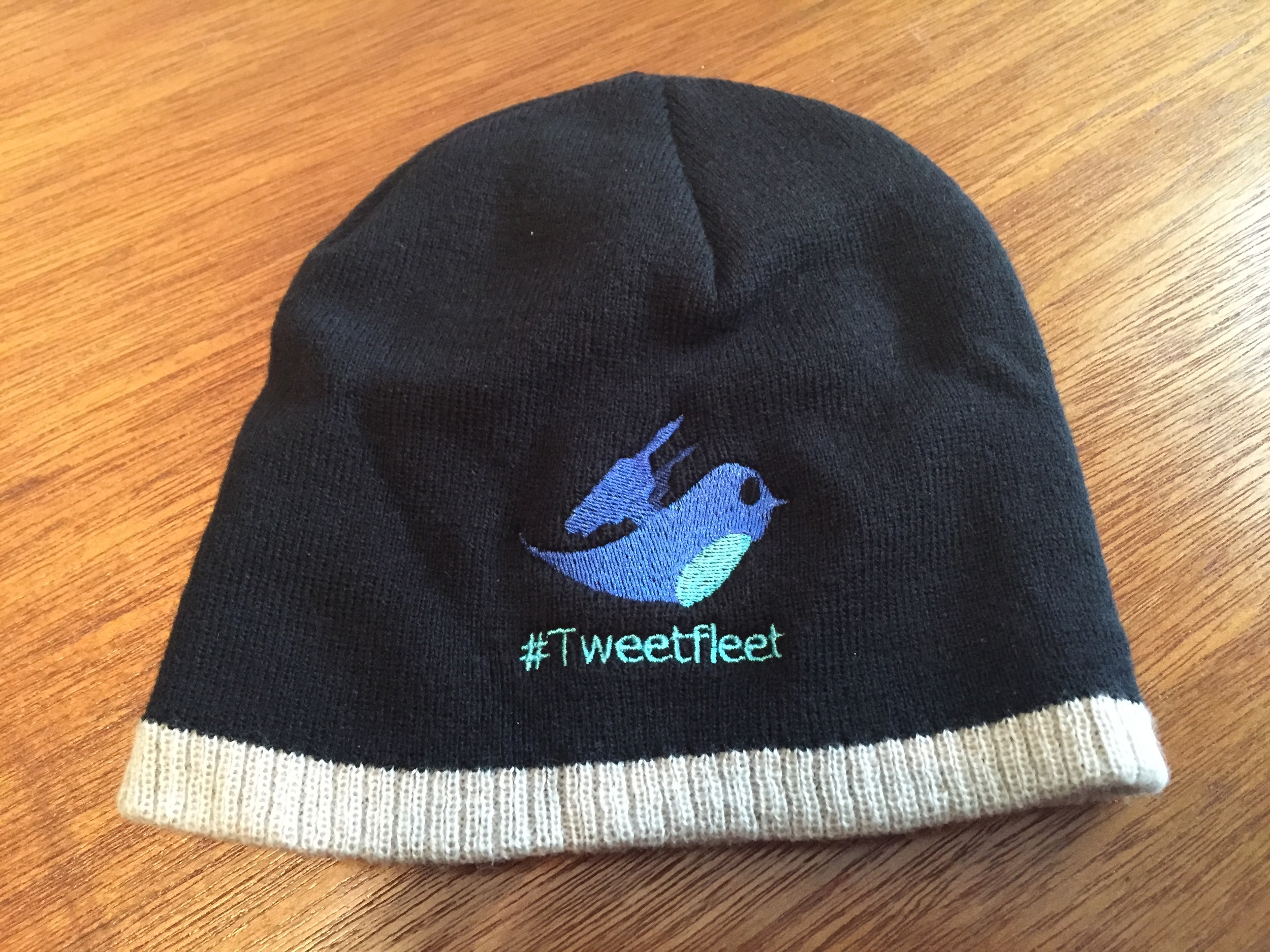 My #Tweetfleet hat that I received as a gift at Fanfest this year, courtesy of  General Stargazer .