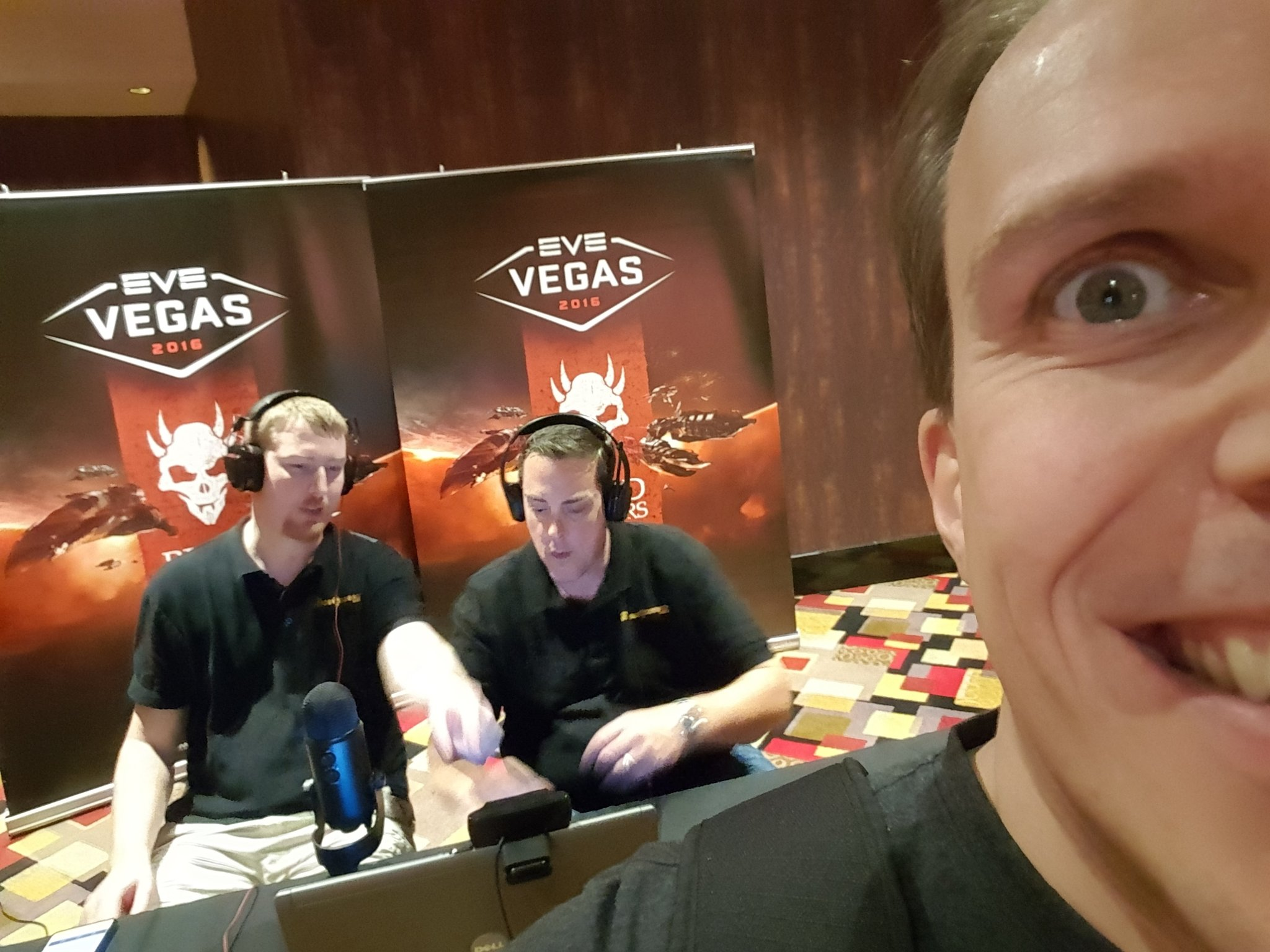 CCP Guard is excited about the Open Comms show at EVE Vegas.