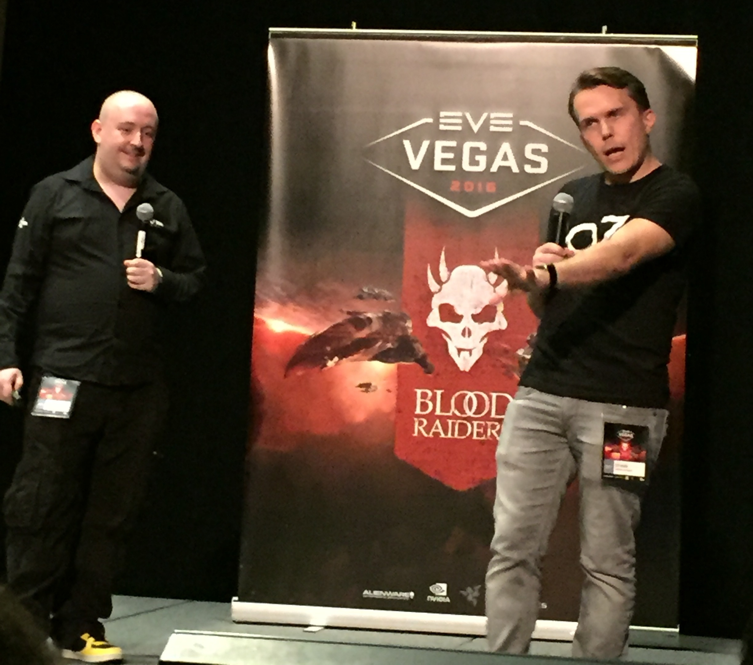 CCP Falcon and CCP Guard kick off the start of EVE Vegas 2016