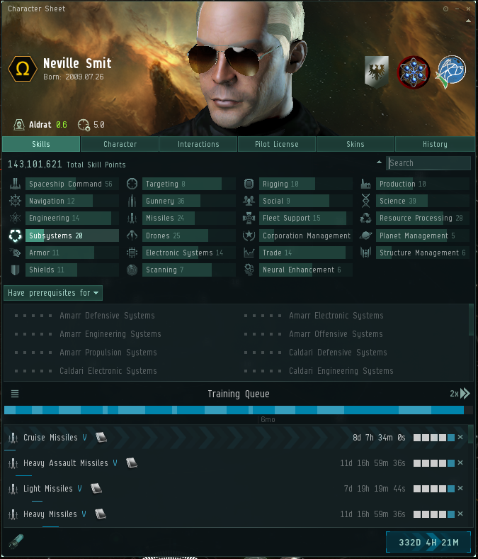 Once I figured out how to navigate it, the Character Sheet led me to all sorts of interesting new discoveries in EVE Online.