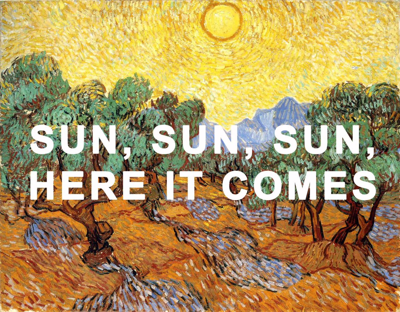 """""""HERE COMES THE SUN"""" - A TIMELESS MUSICAL WELCOME TO SPRING"""