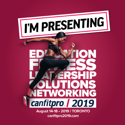 """- Margot is looking forward to presenting her workshop """"How to Better Use Music to Supercharge Your Older Adult Exercise Programs"""" at this year's canfitpro 2019 Toronto conference in August.Her workshop includes a 30 minute demonstration class with all new choreography."""