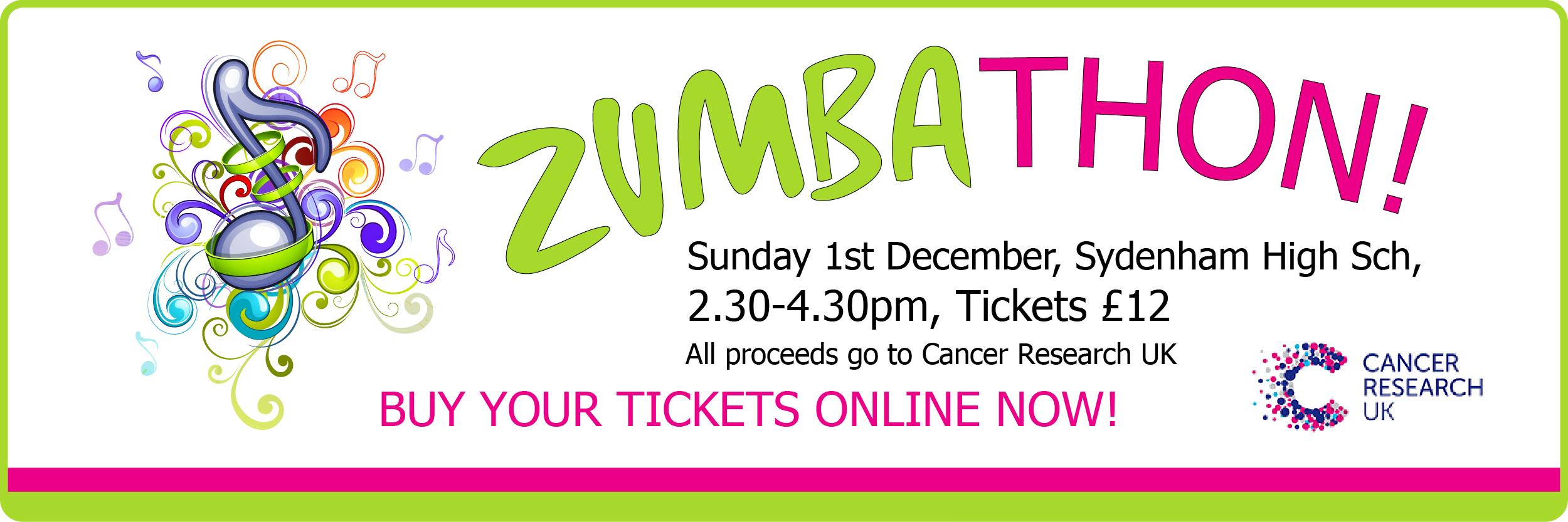 Zumbathon at Sydenham High School, South East London on Sunday 1st December 2013