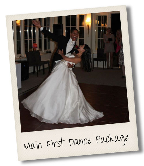 Main Wedding First Dance Package