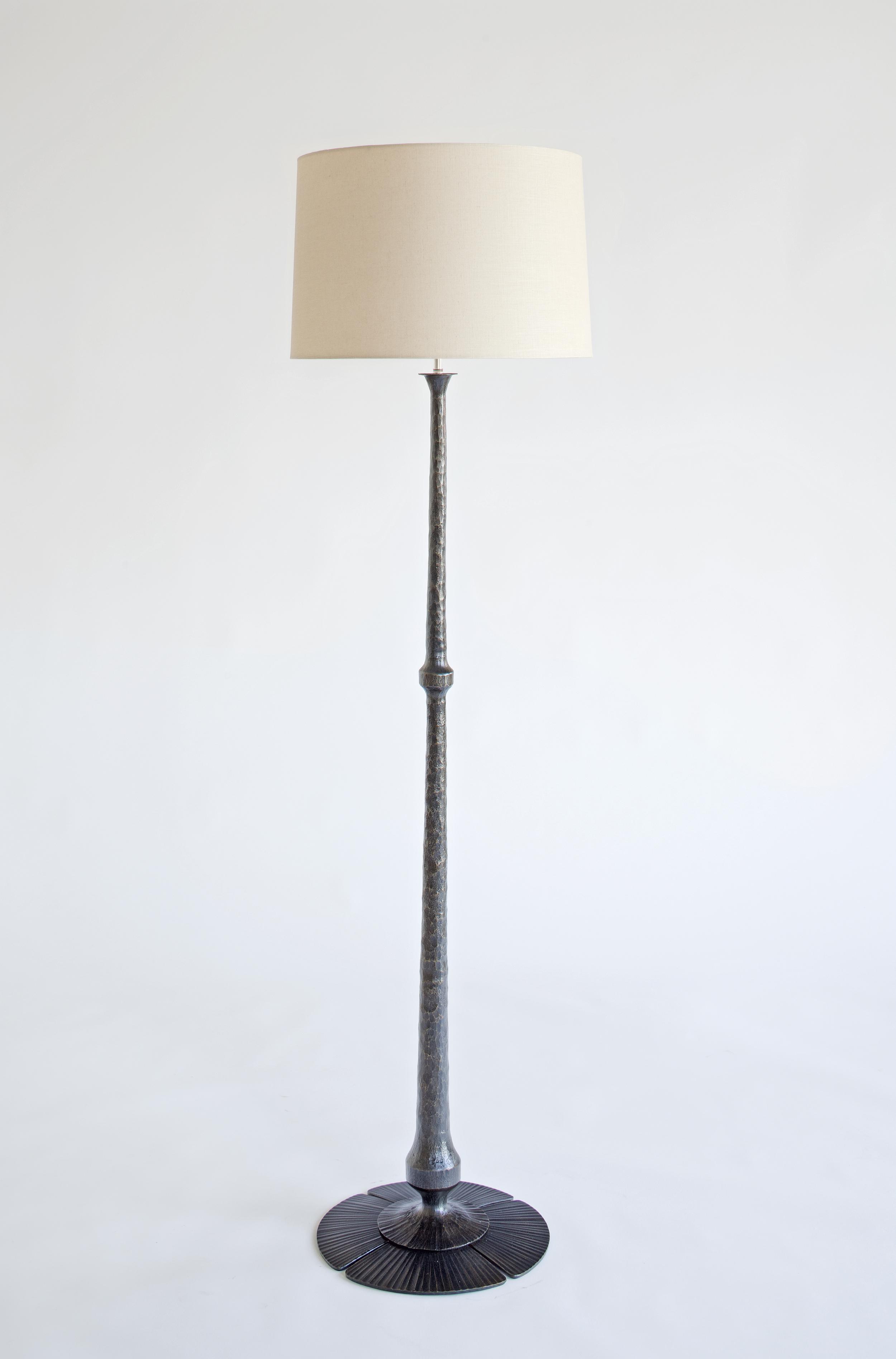 Stampa Floor Lamp in steel