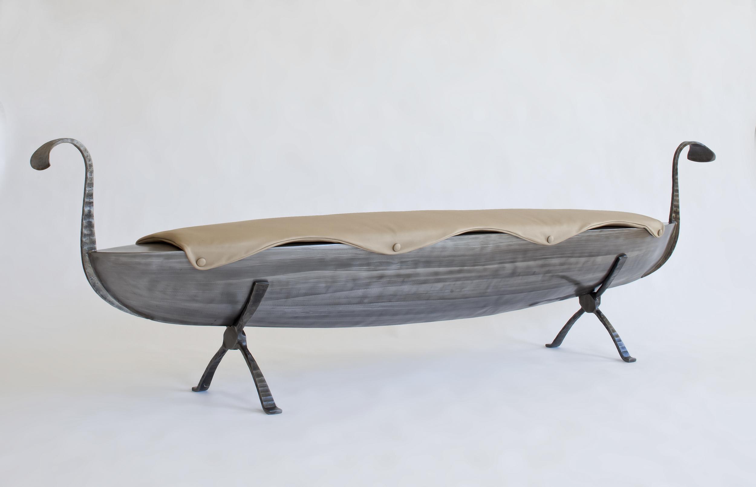 Custom Boat Bench