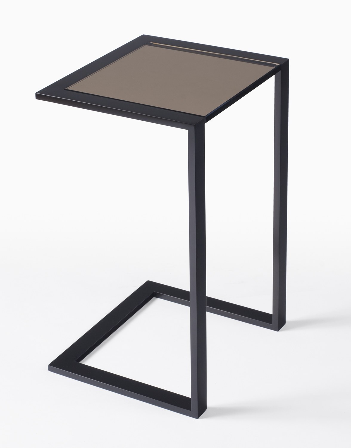 Talea Drink Table with bronze glass