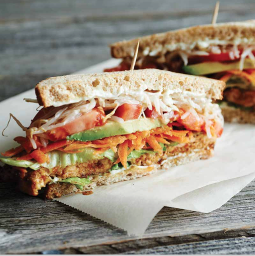 Hot Tempeh from The Hot Chicken Cookbook. Photograph by Danielle Atkins.