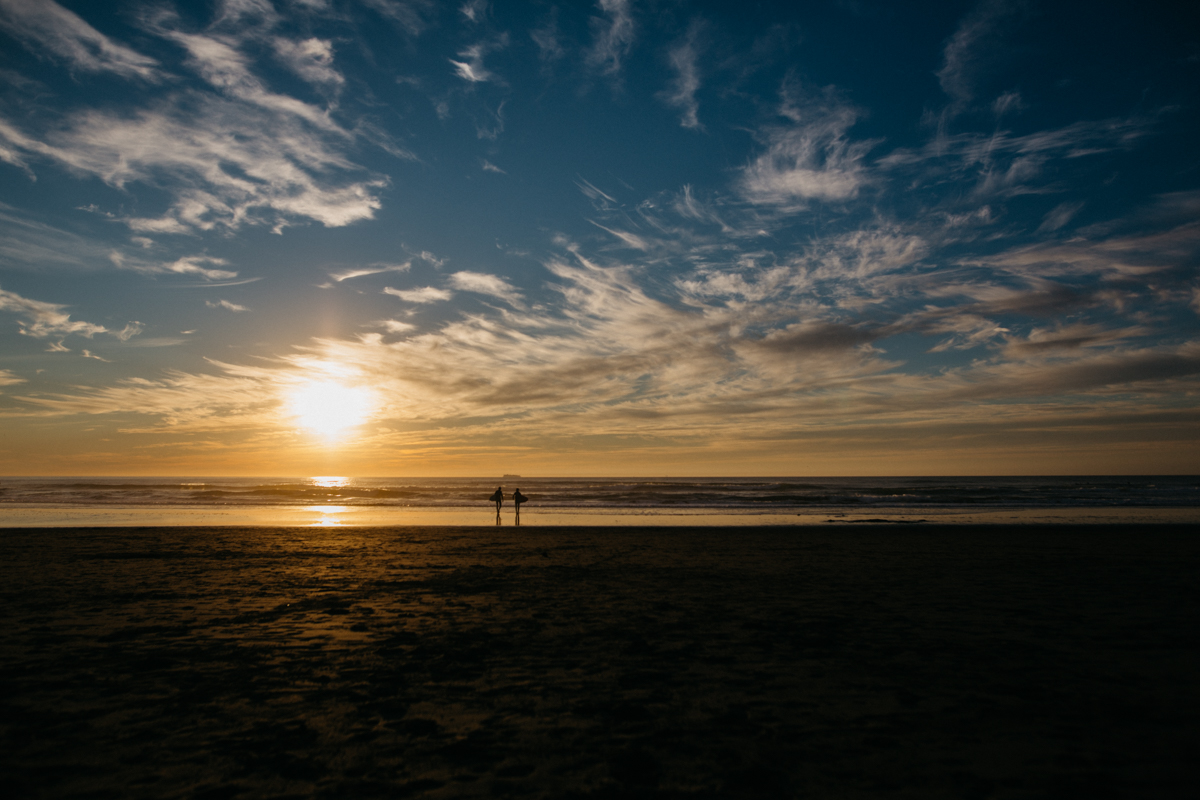Honeymoon at Sunset Beach
