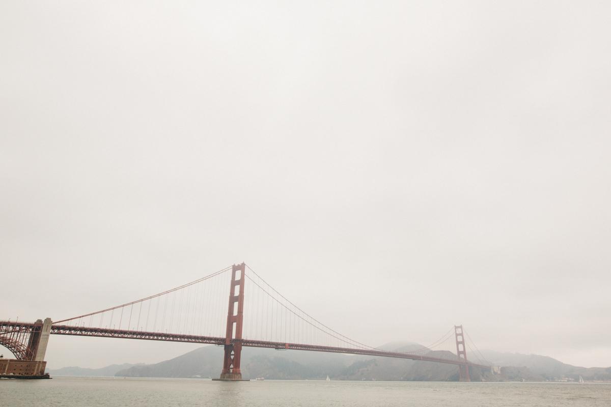 Honeymoon at The Golden Gate Bridge