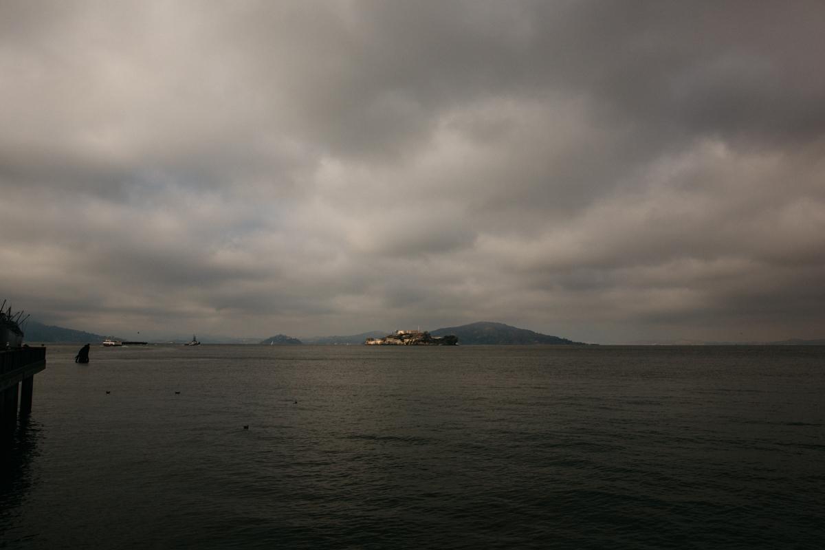 Honeymoon at Fisherman's Warf in San Francisco