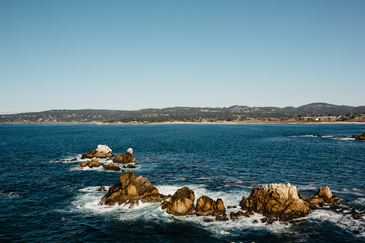 Hiking at Point Lobos State Park