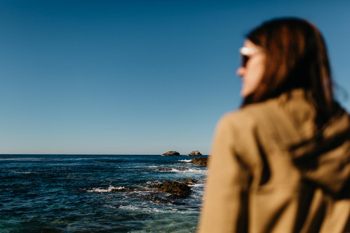 Cliffs in Carmel, California