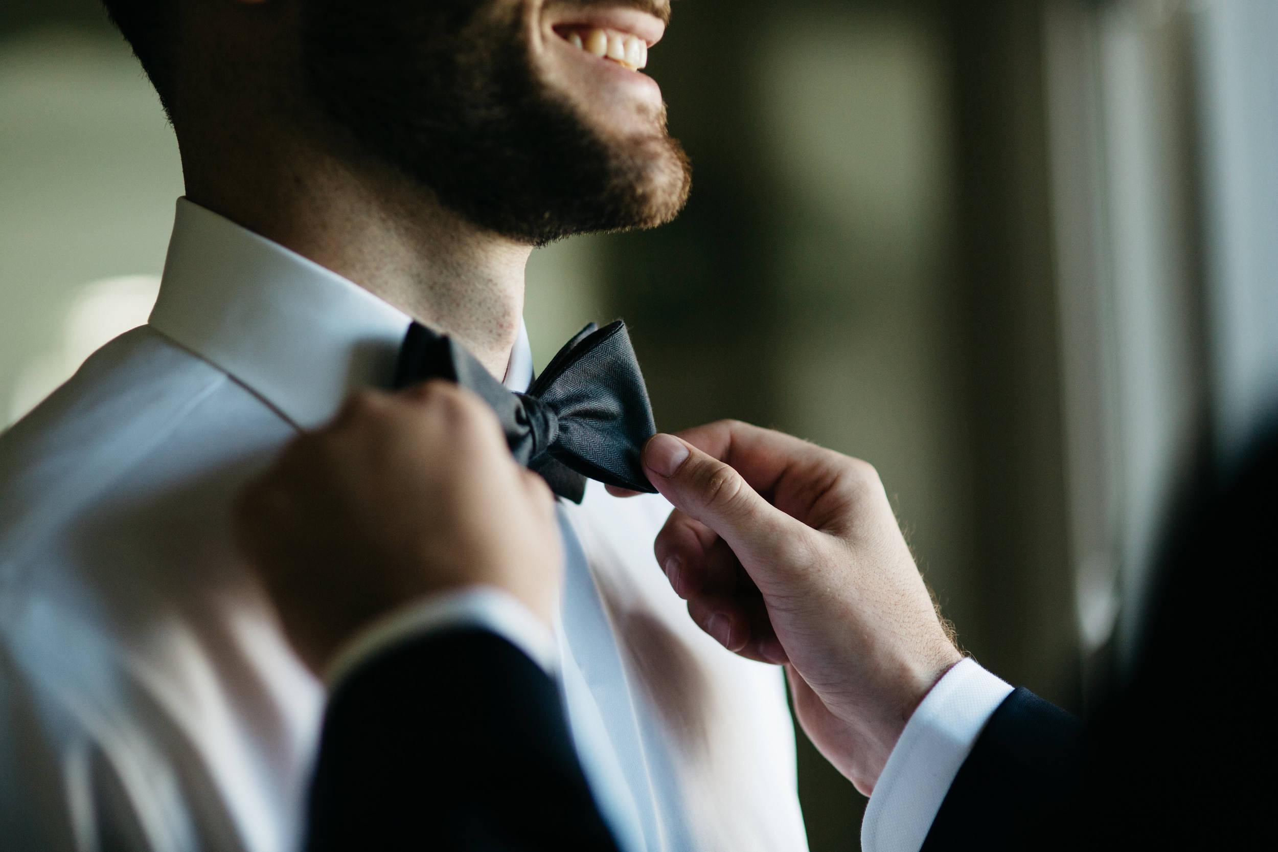 Catawba Island Wedding Groom