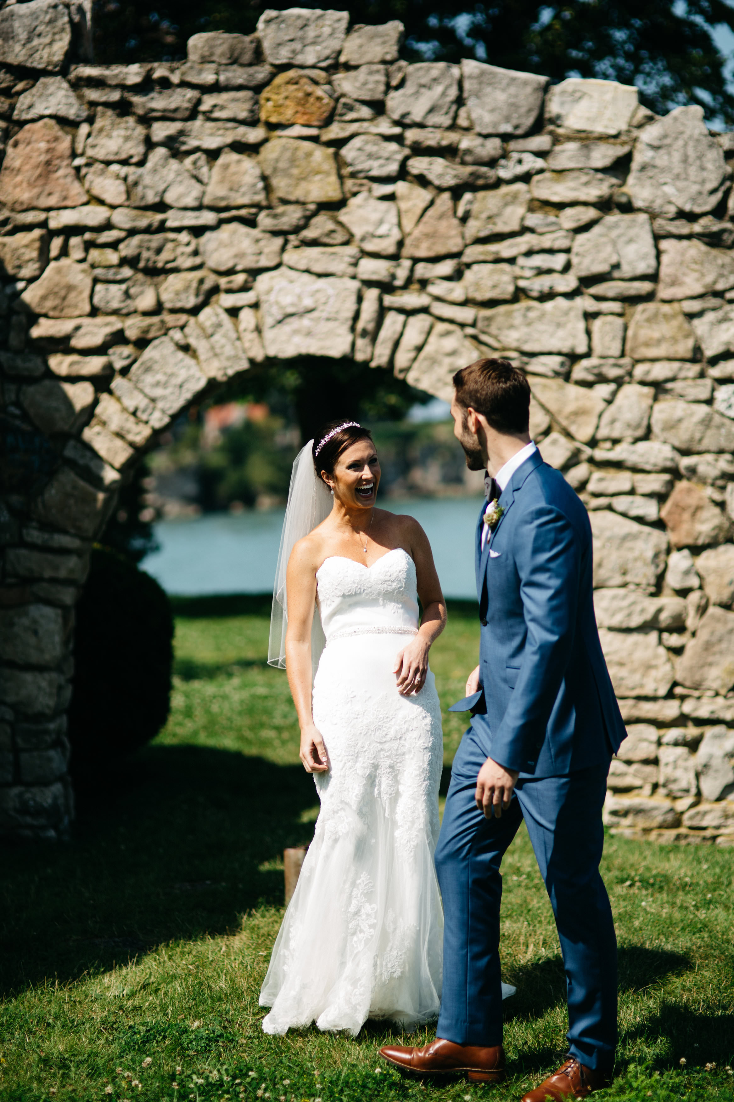 Summer Wedding in Catawba Island