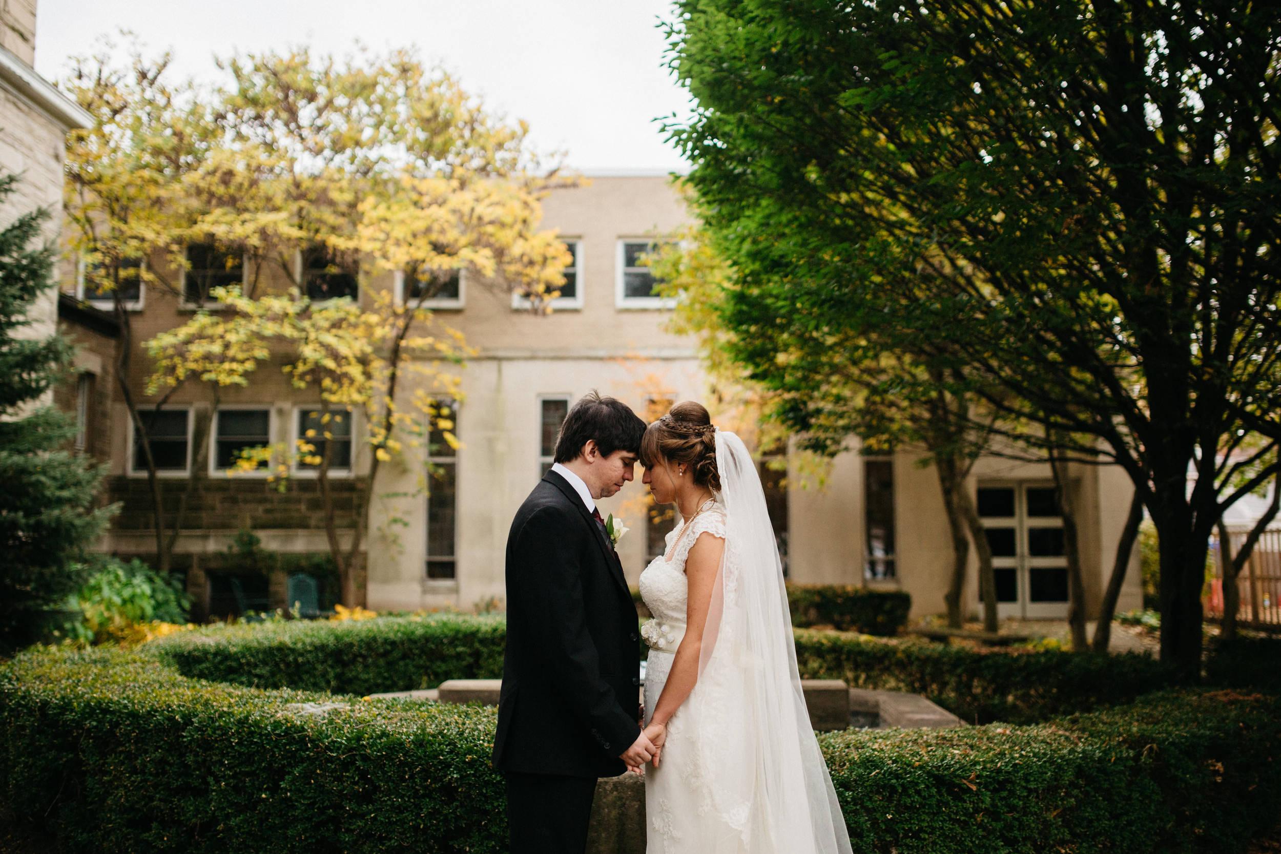 Fall Wedding in Dayton, Ohio