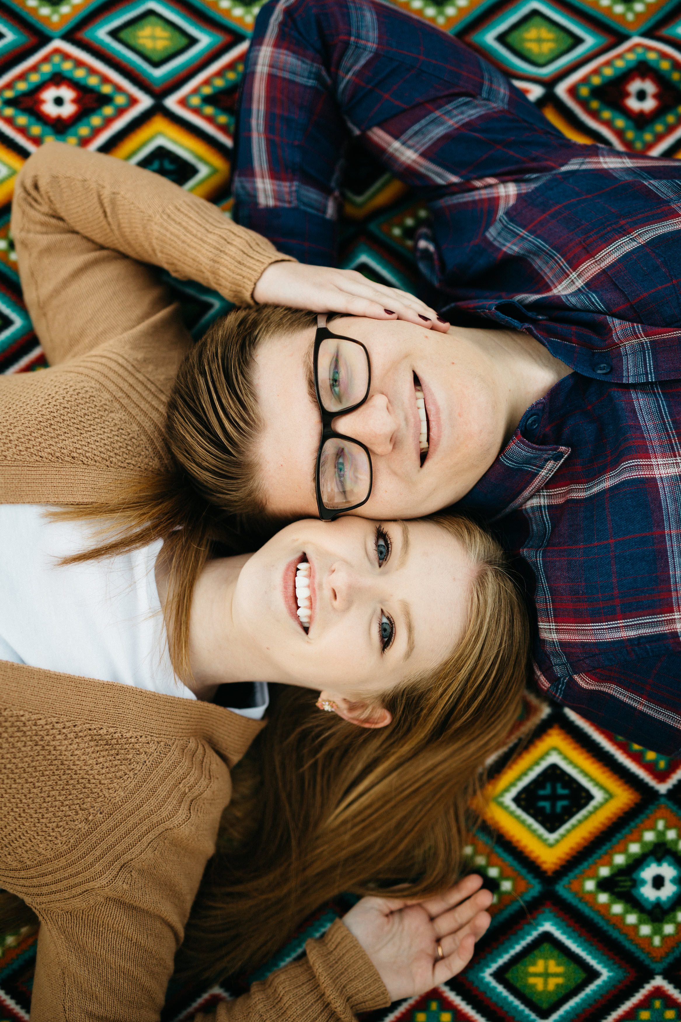 Engagement session photography in Bowling Green, Ohio