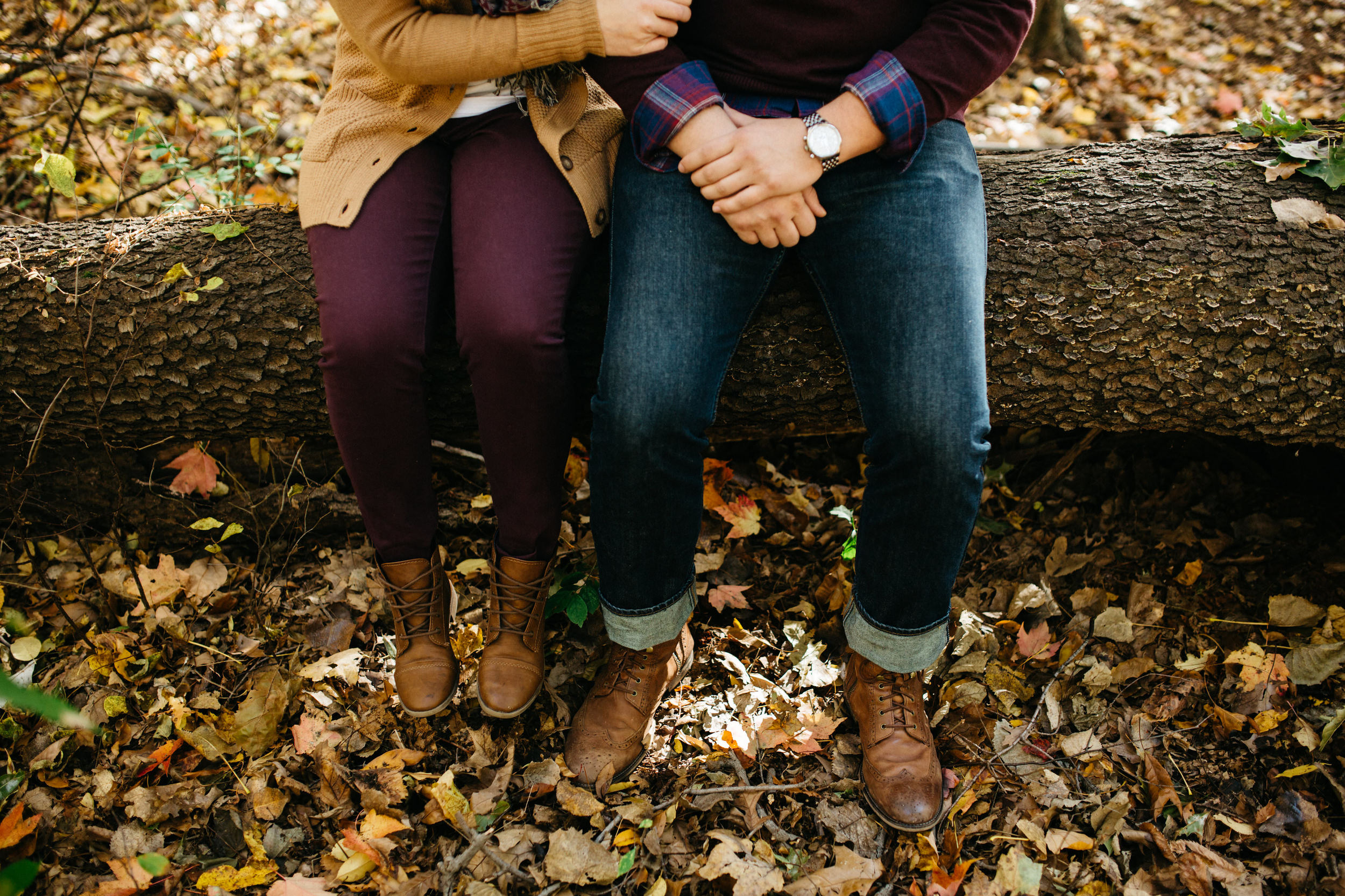 Couples portraits perfectly styled for Fall