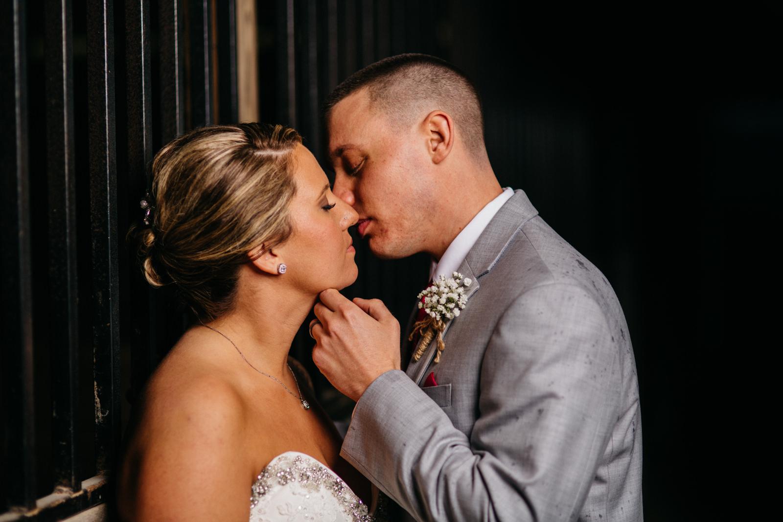 Wedding portraits at Fulton County Fairgrounds