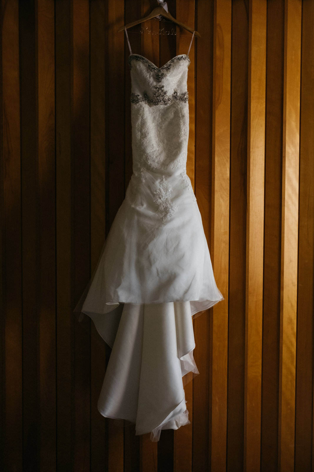 Gorgeous detailed wedding dress from 2B Bridal Boutique
