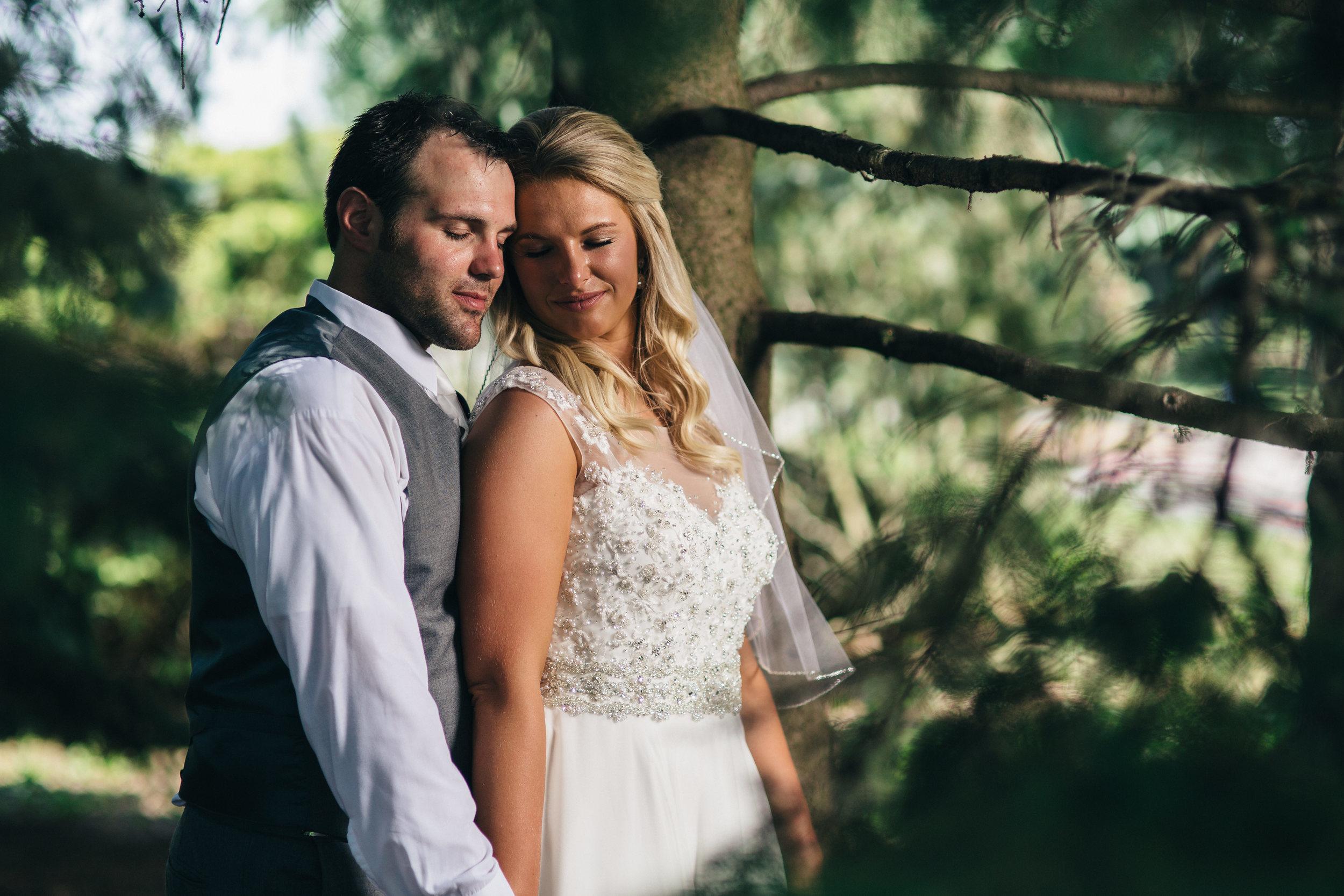 Wedding photography in Toledo, Ohio.