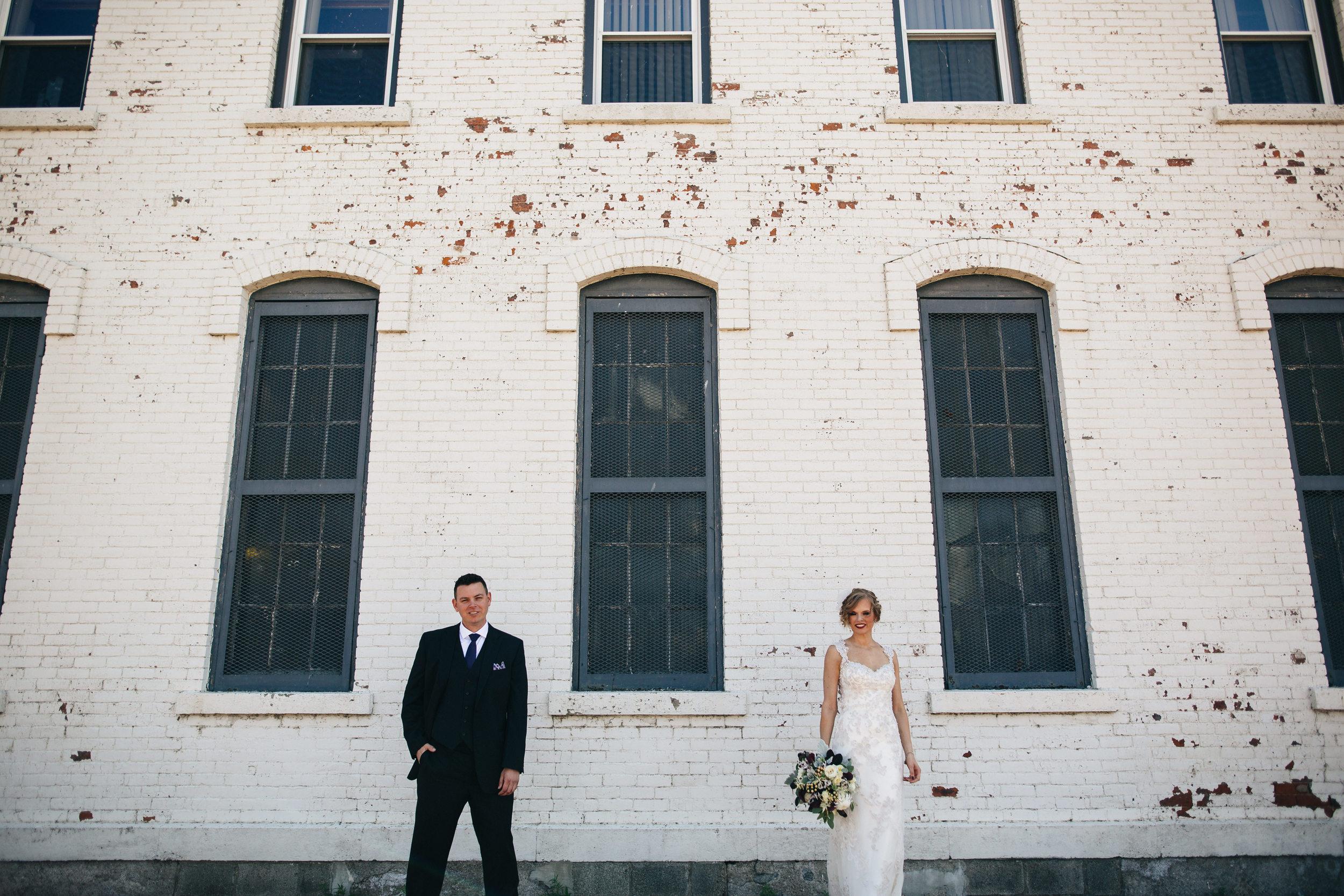 Bride and groom wedding photography in Sandusky, Ohio.