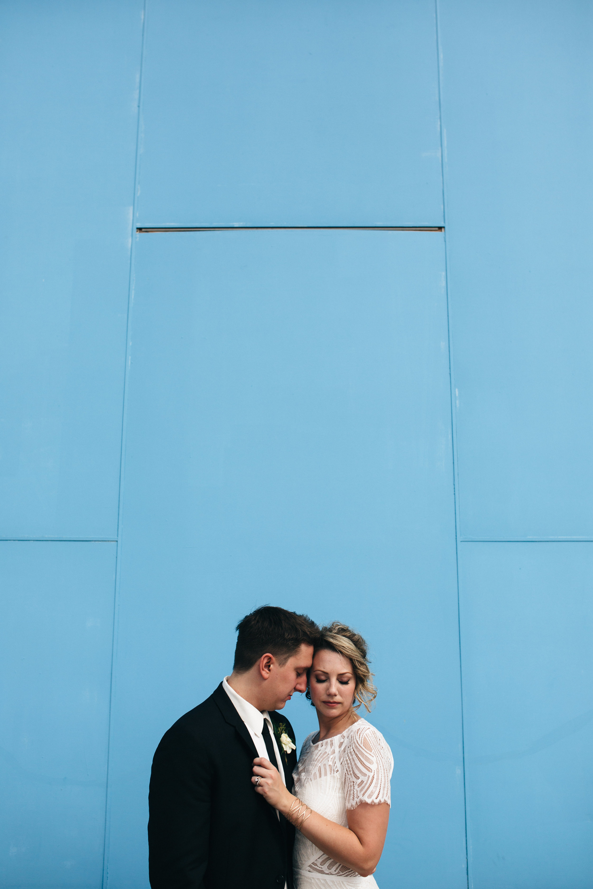 Wedding photography in downtown Toledo.