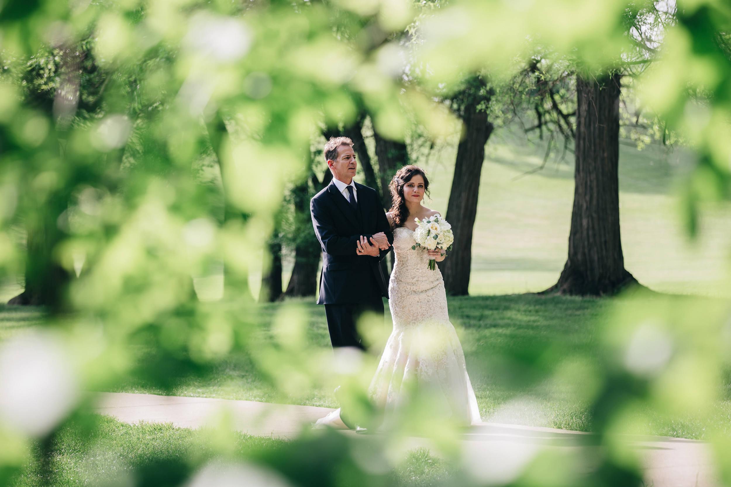 Wedding Ceremony at Nazareth Hall.