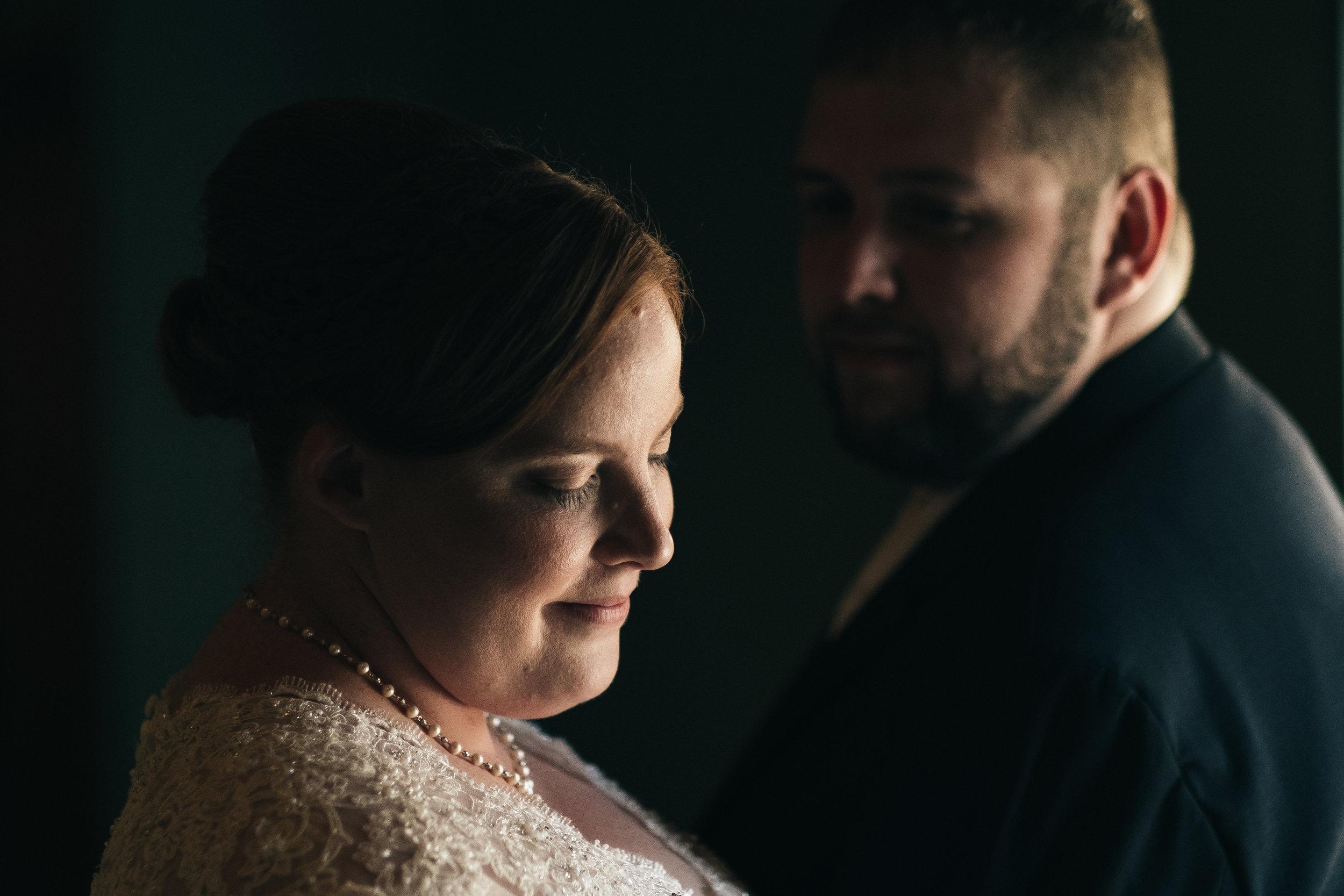 Wedding day at Walden Inn in Aurora, Ohio.