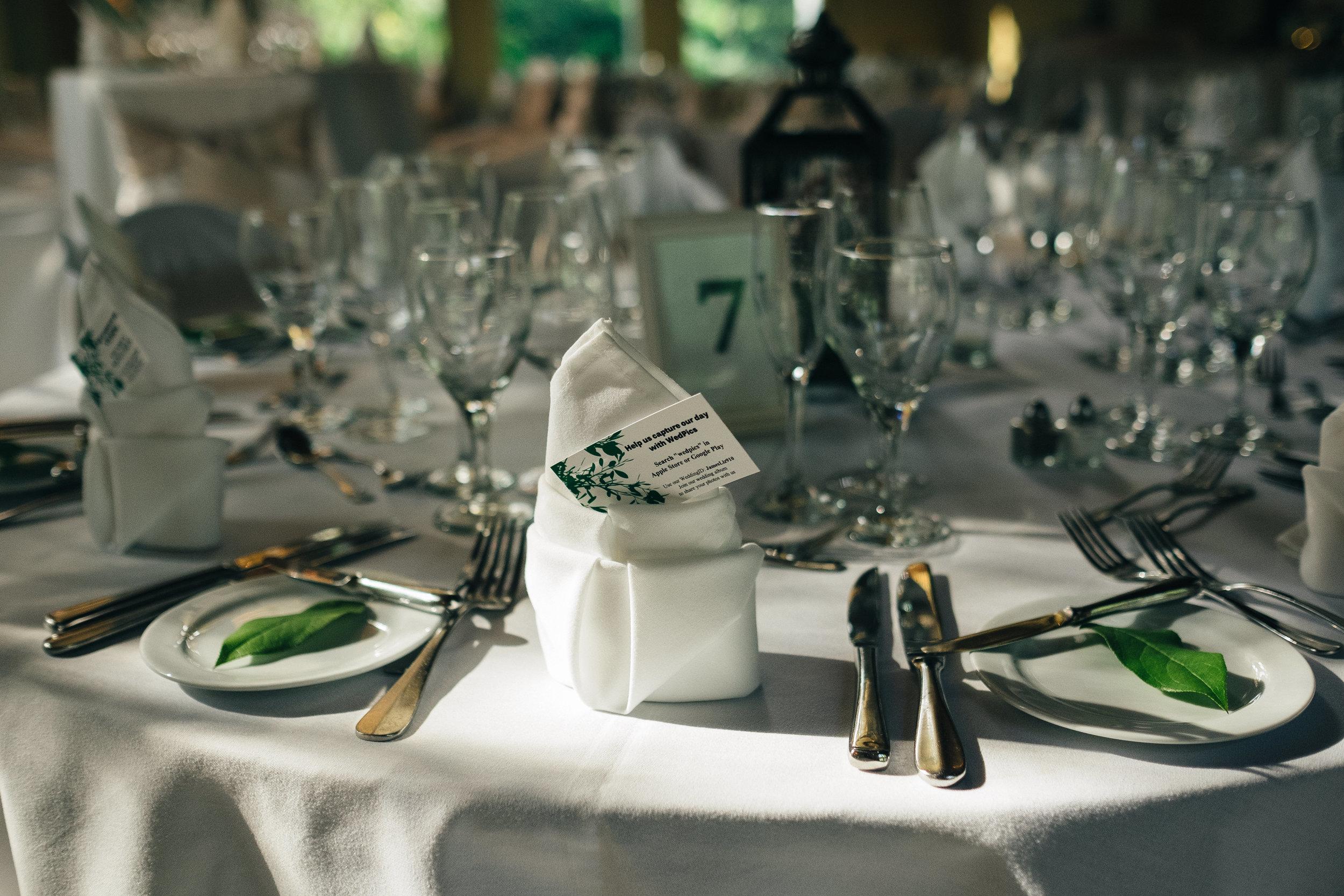 Wedding reception at Walden Inn & Spa