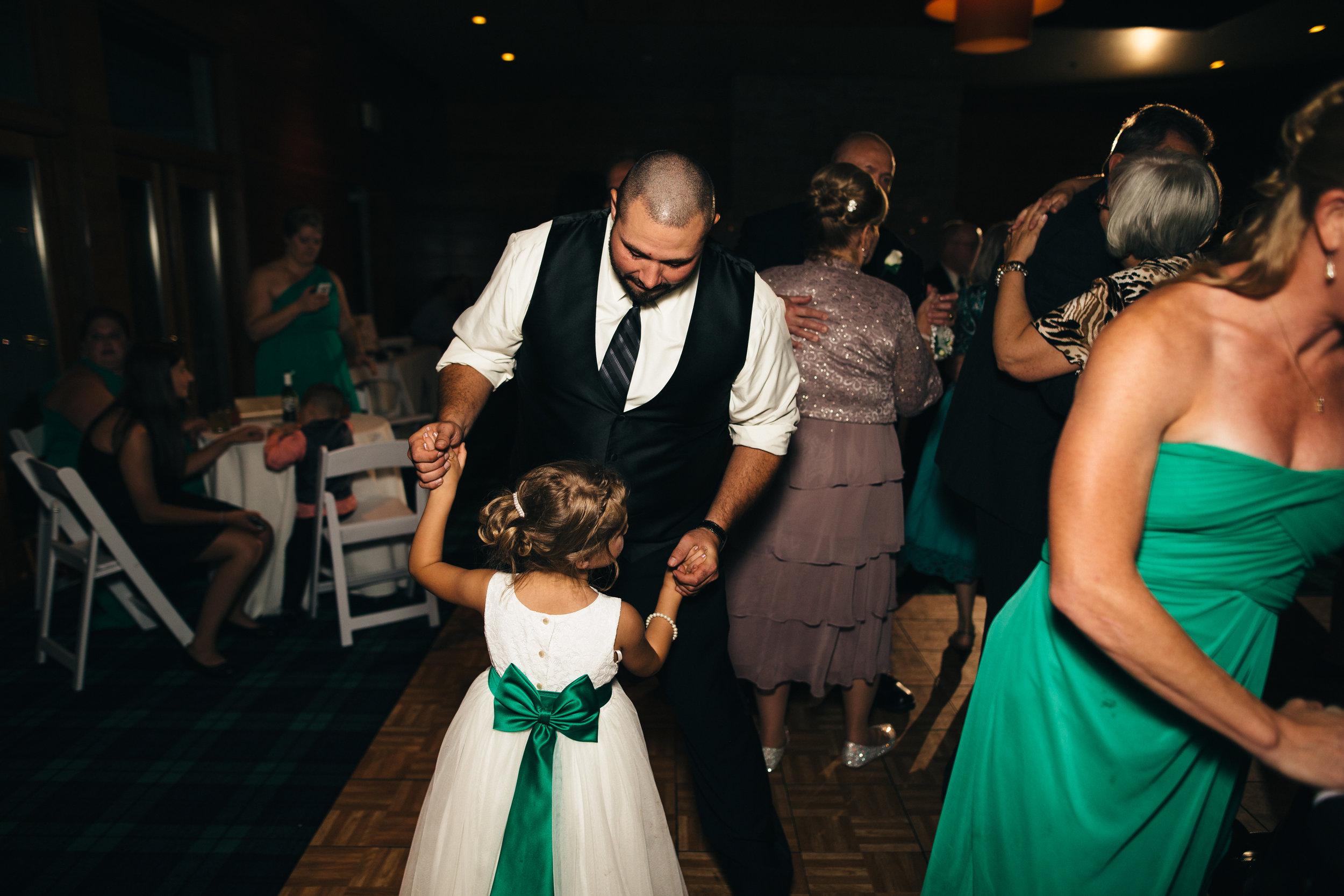 Cleveland wedding photography at Walden Inn Reception