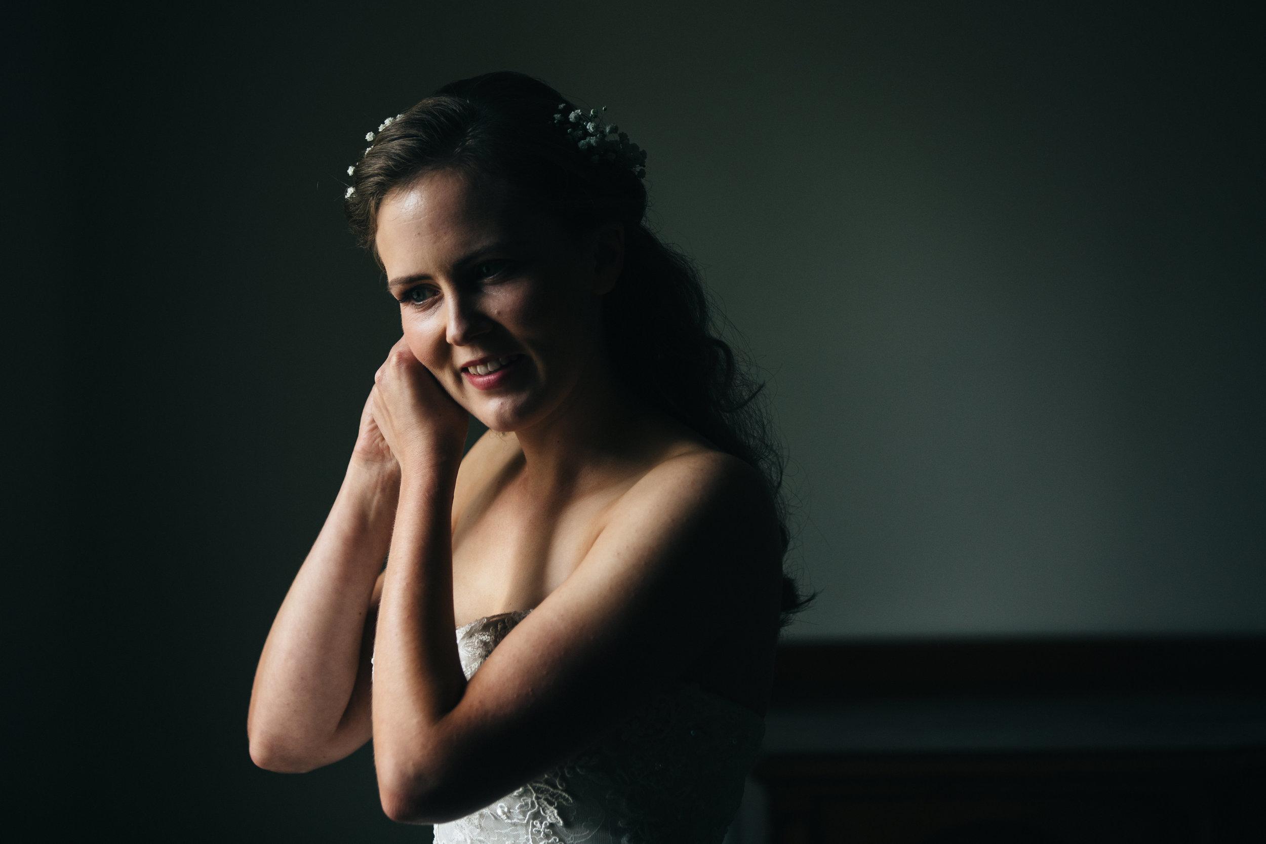 Brides wedding detail photography