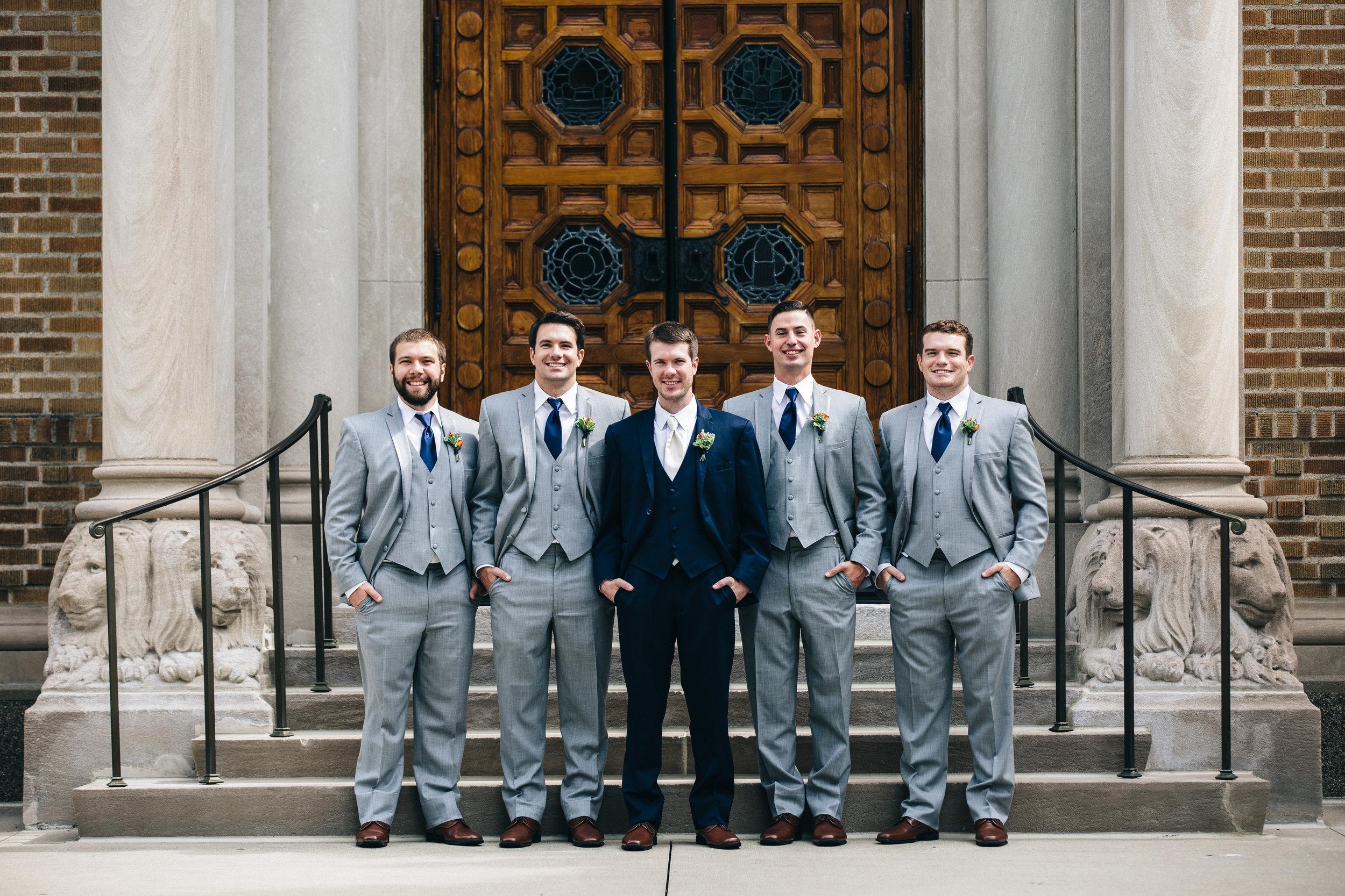 Wedding photography groomsmen inspiration