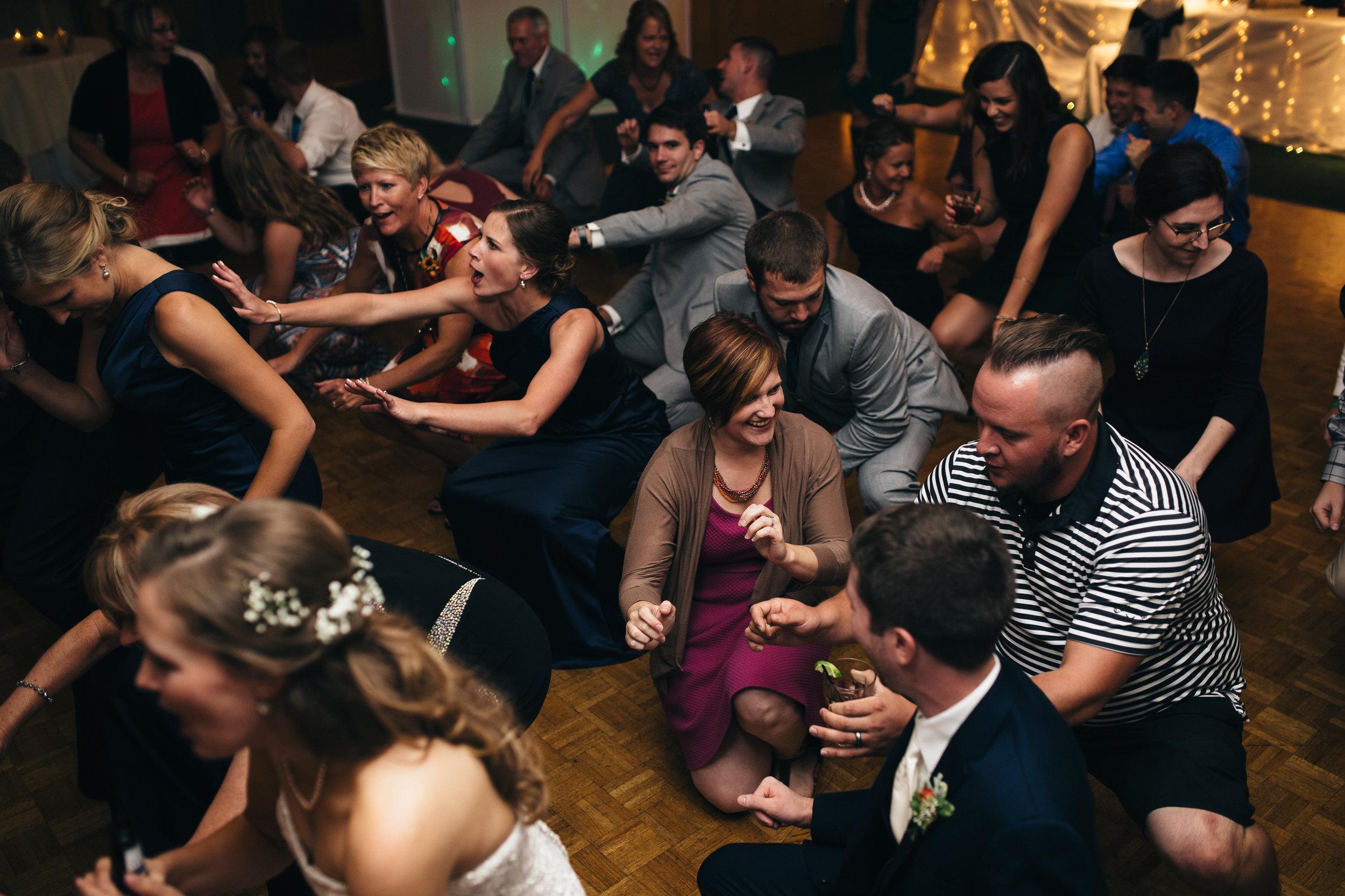 BookthatDJ.com plays at Wedding Reception in Bowling Green, Ohio.