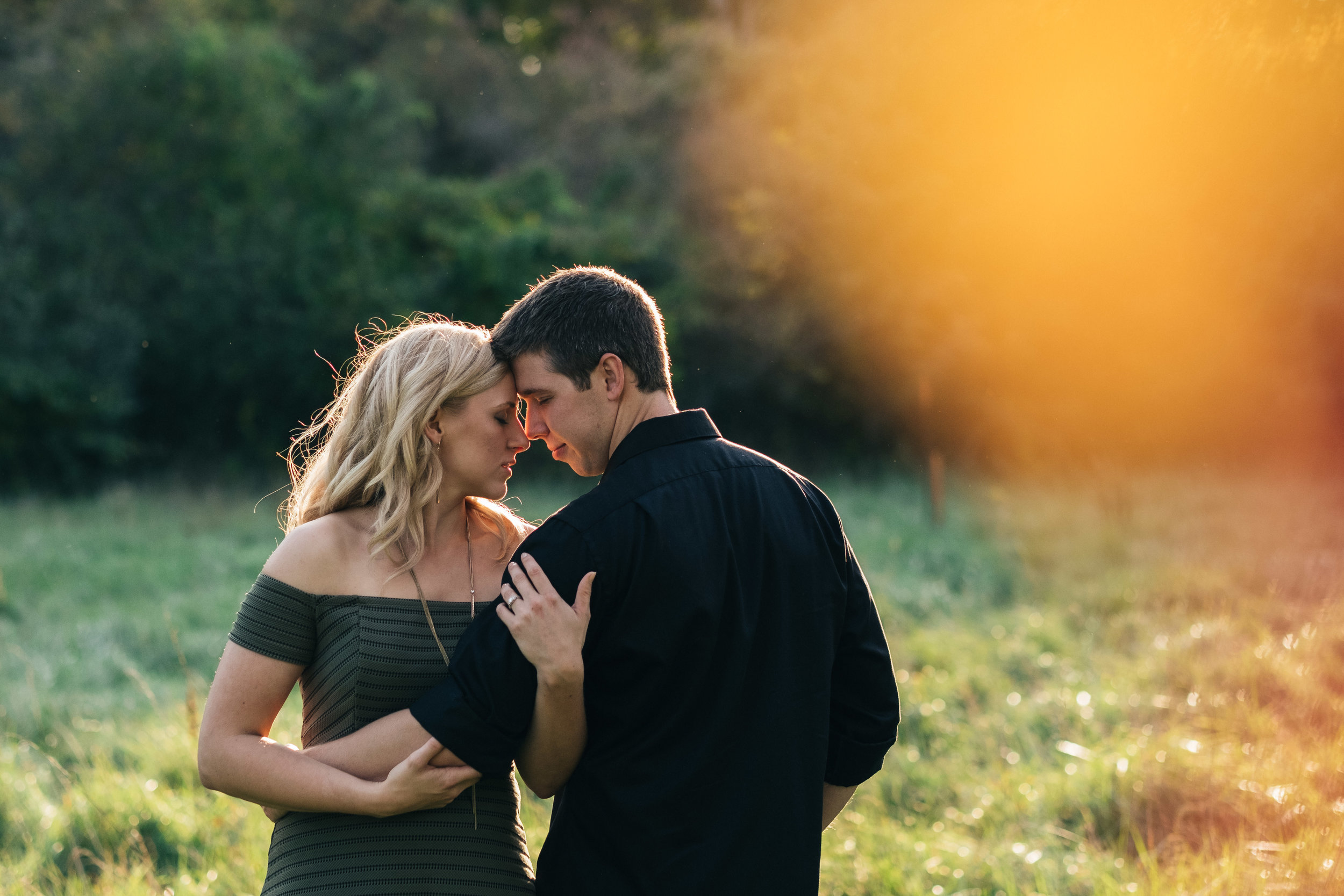 Best engagement photography in Willow Metropark, Michigan.