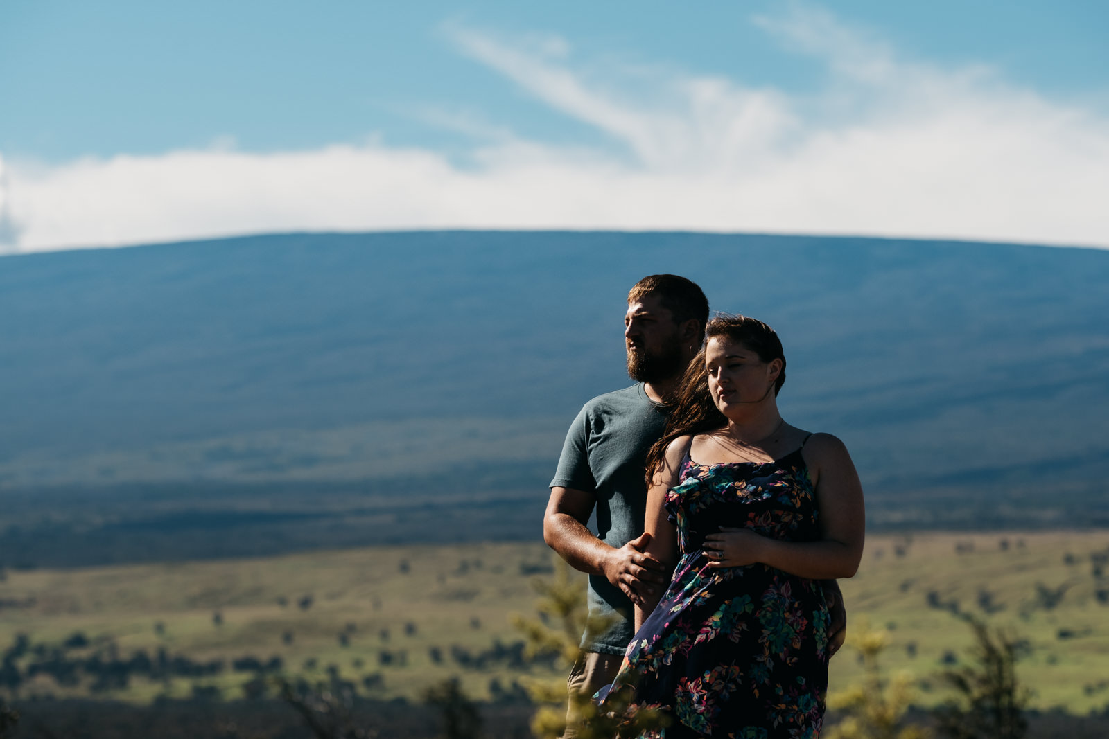 Engagement sesssion at Hawai'i Volcanoes National Park