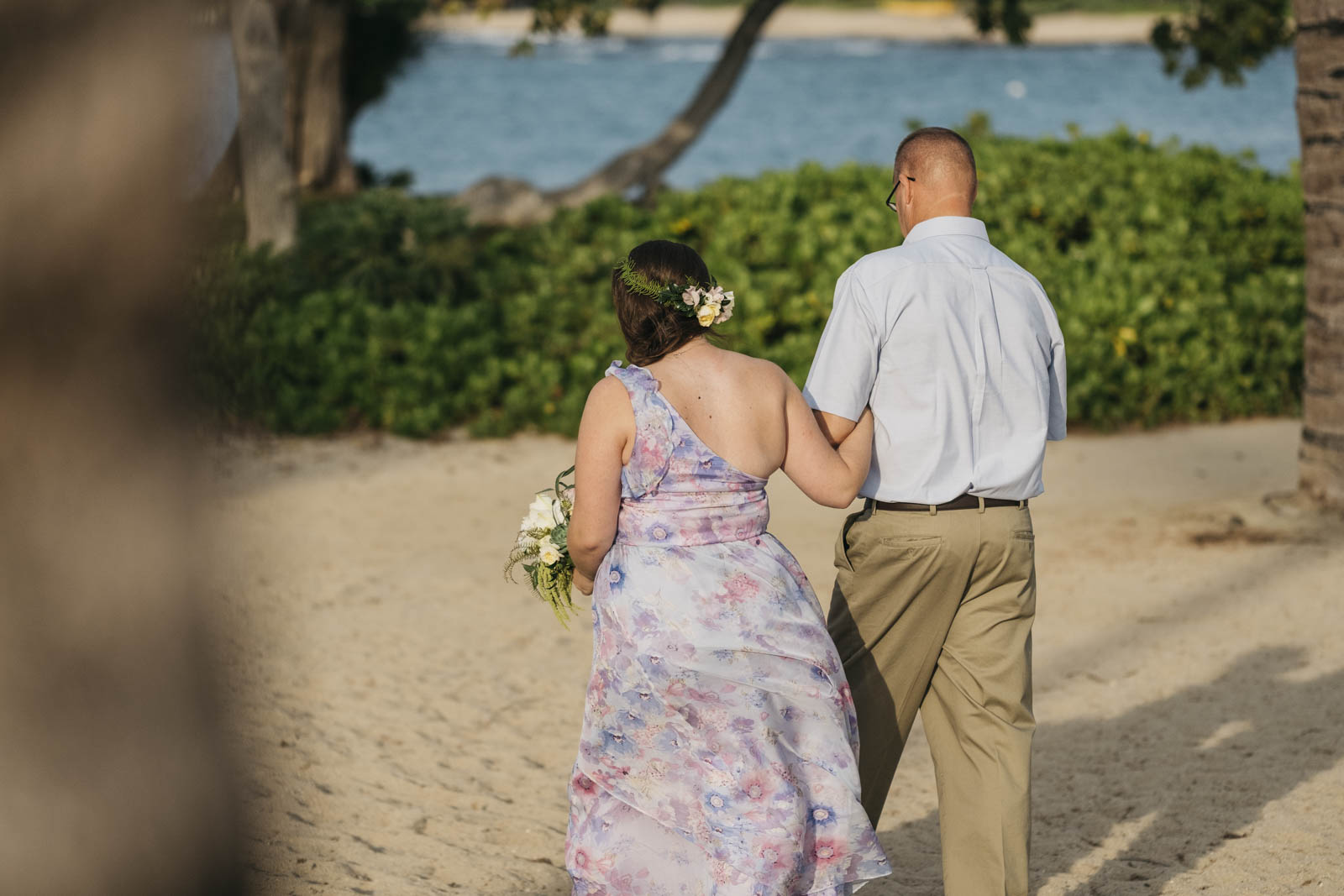 Wedding in Kona, Hawaii, in November.
