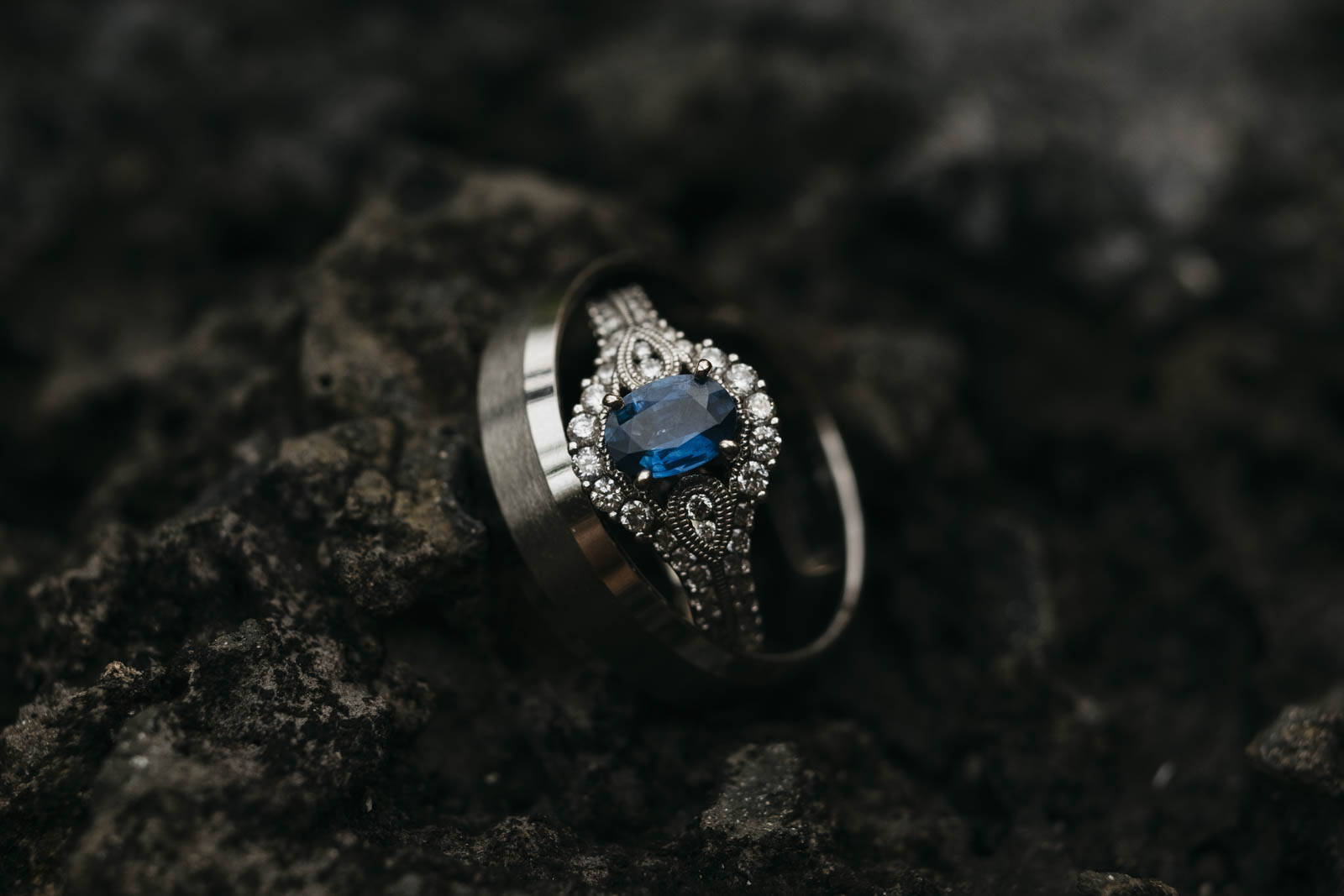 Wedding ring in Hawaii.