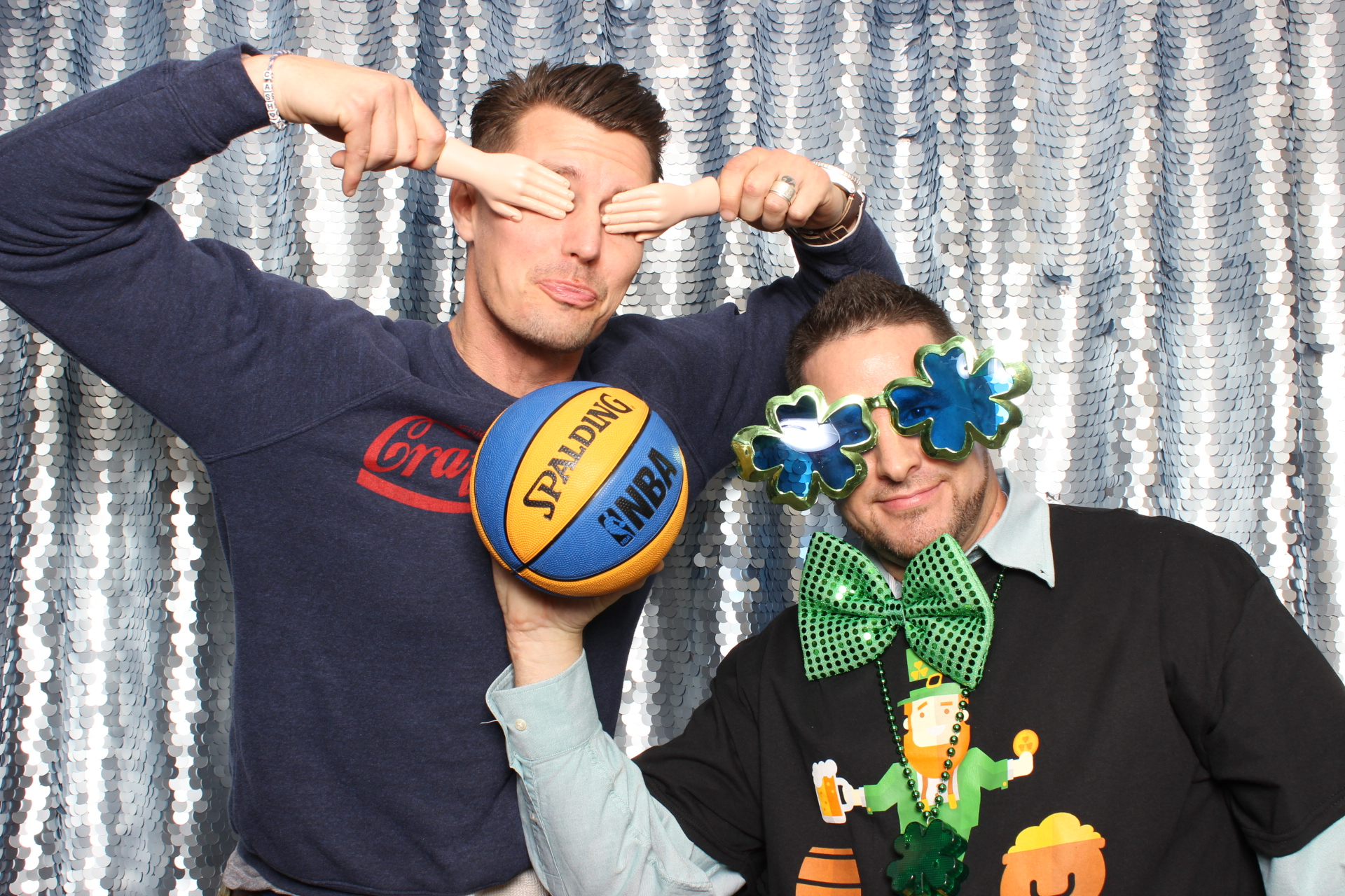 March Madness celebration with Swatch Photobooth
