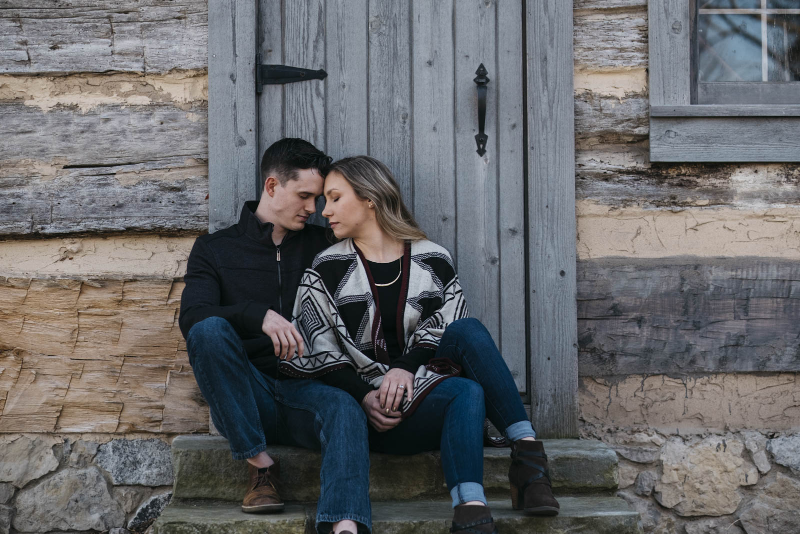 Northwest Ohio engagement session in Sylvania.