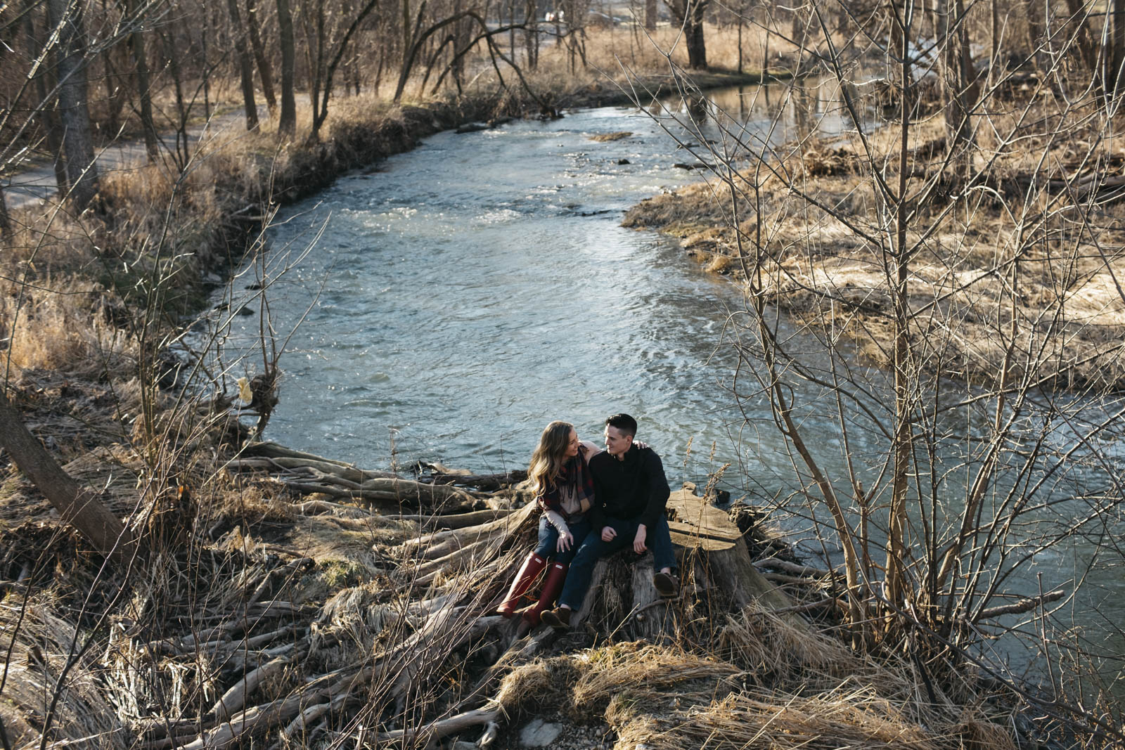 Engagement photography in Northwest Ohio.