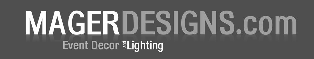 Chris at Mager Designs has done some absolutely wonderful work for tons of weddings in the area. Come check out some of their talents will all things lighting and decor!