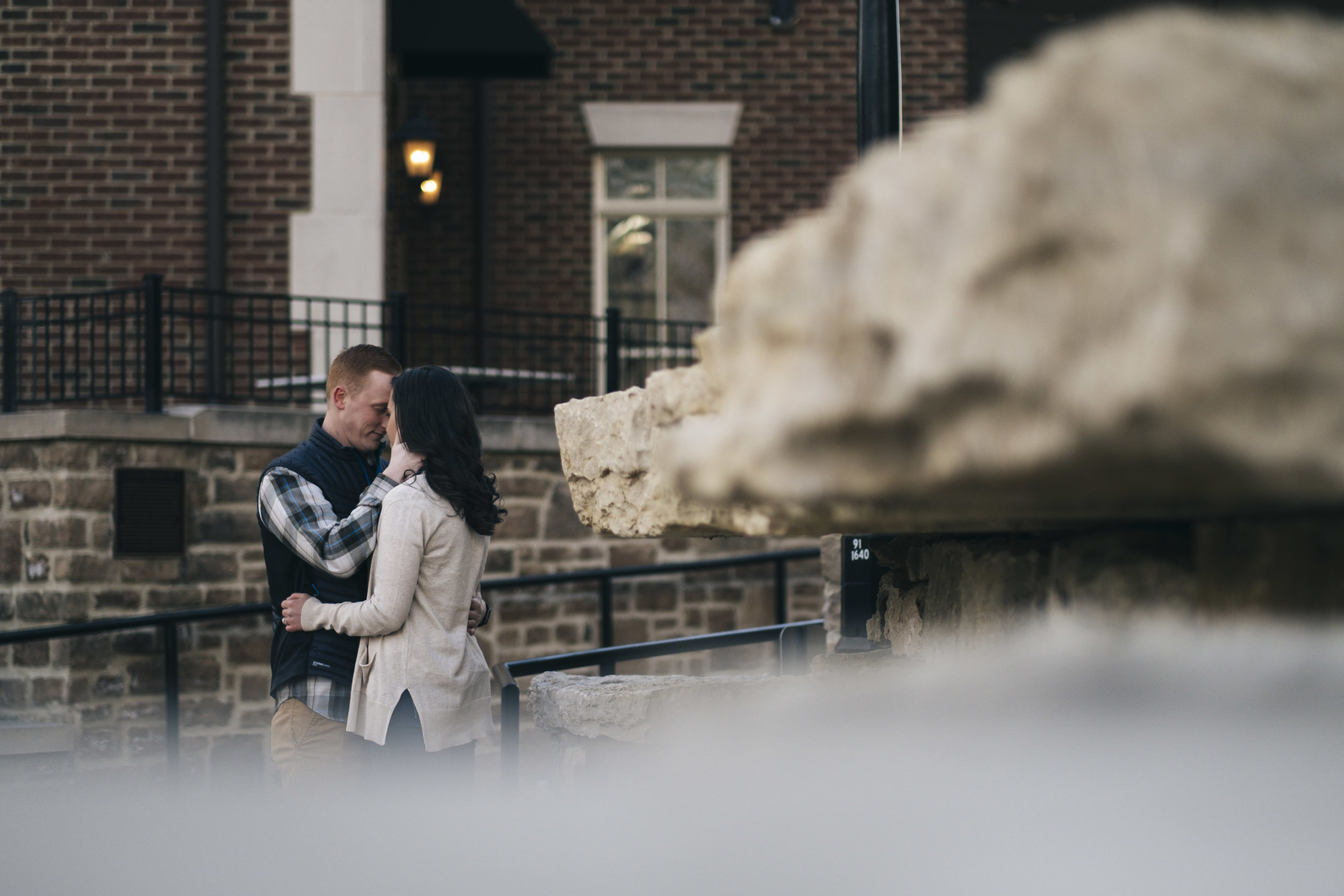 Engagement photography in Dublin, Ohio.