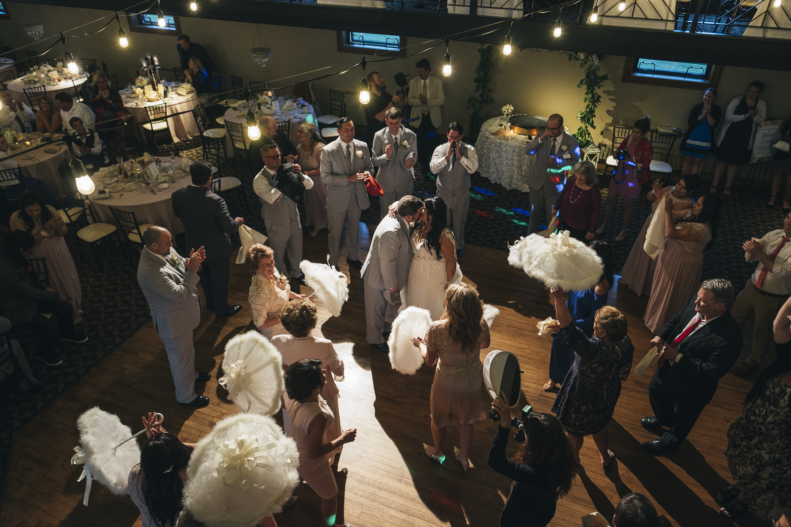 Second Line wedding traditions for New Orleans family.