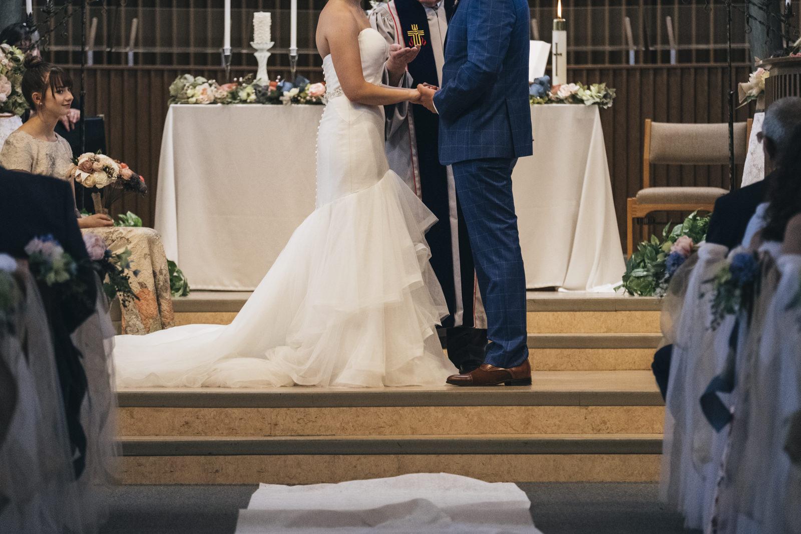 Sylvania, Ohio wedding ceremony.