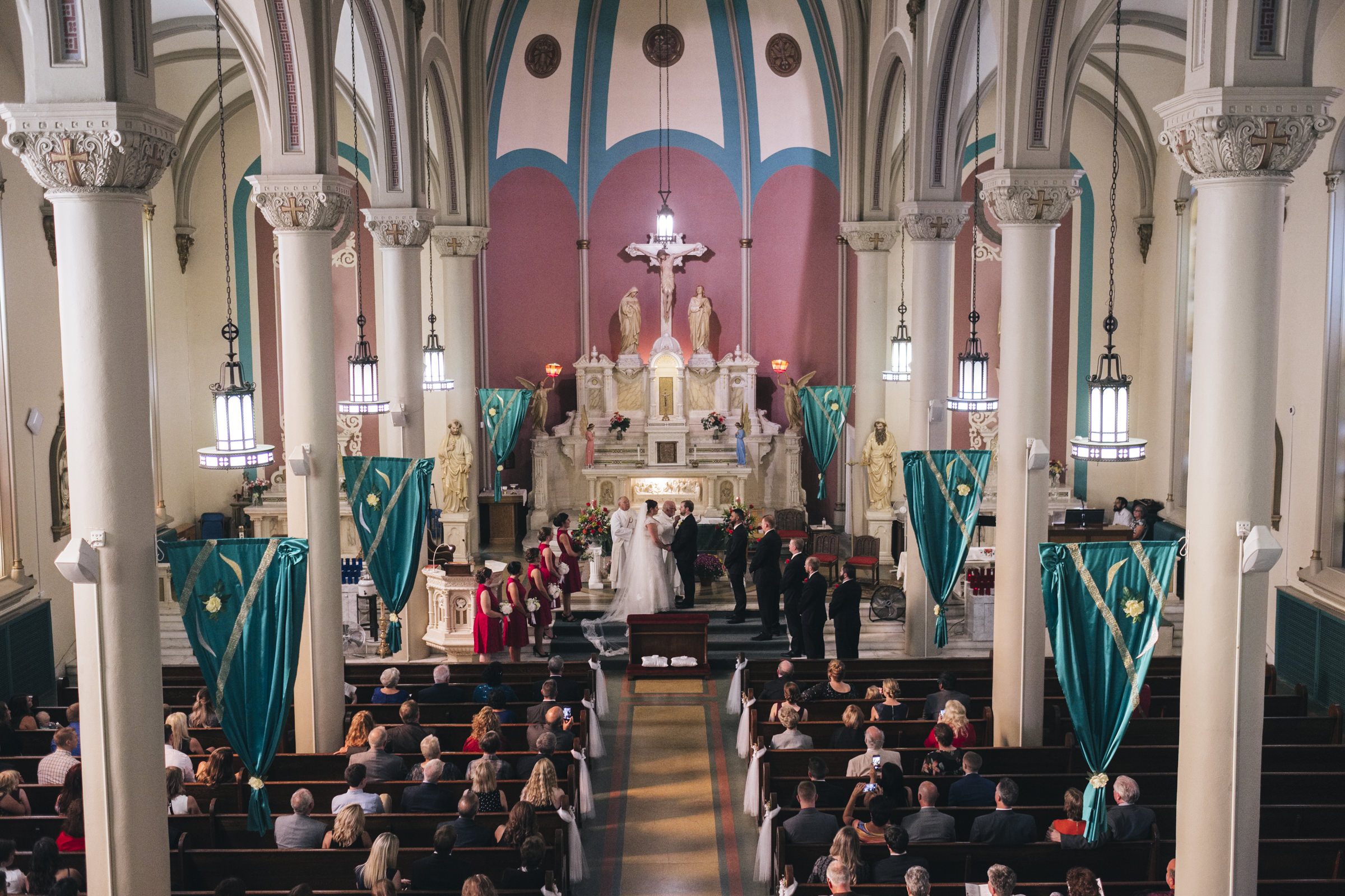 Maxican and Irish Catholic wedding in Toledo, Ohio